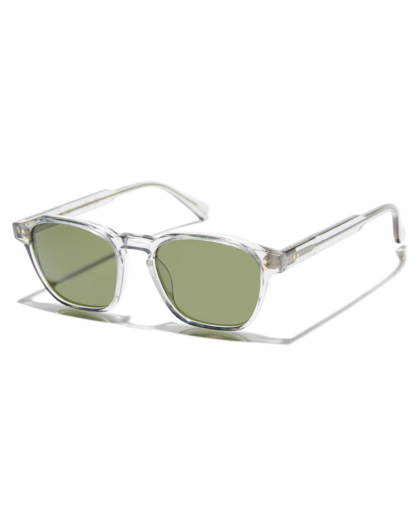 Raen Aren 50 Sunglasses Fog Crystal Green Fog Crystal Green