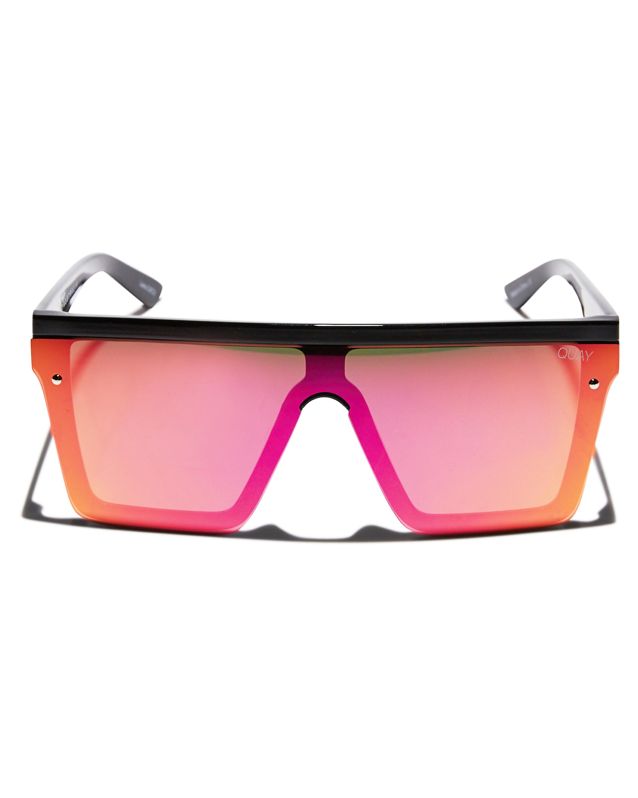 New-Quay-Eyewear-Women-039-s-Hindsight-Sunglasses-Stainless-Steel-Glass-Pink thumbnail 12