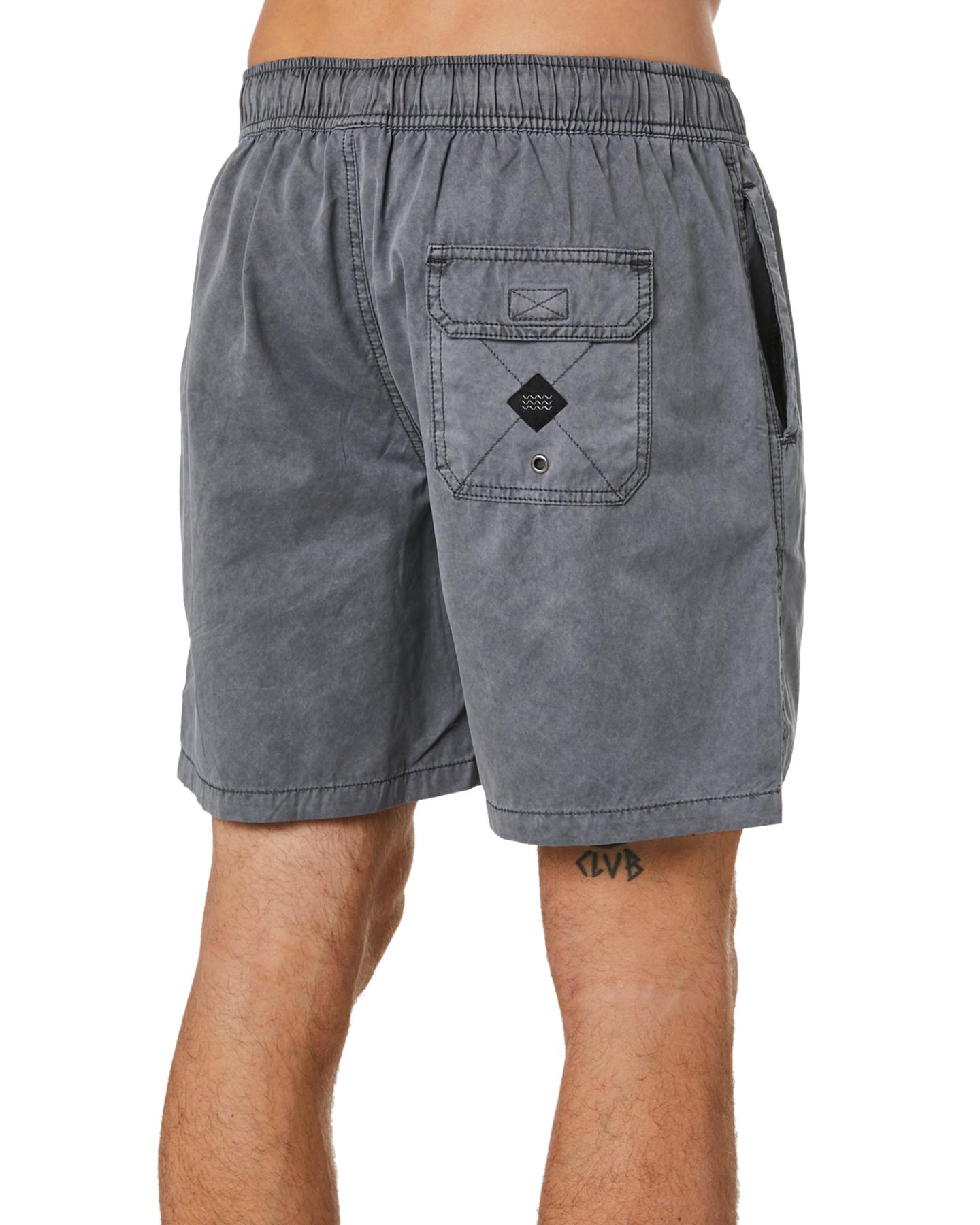 New-Swell-Men-039-s-Malibu-Mens-Beach-Short-Cotton-Polyester-Grey thumbnail 32