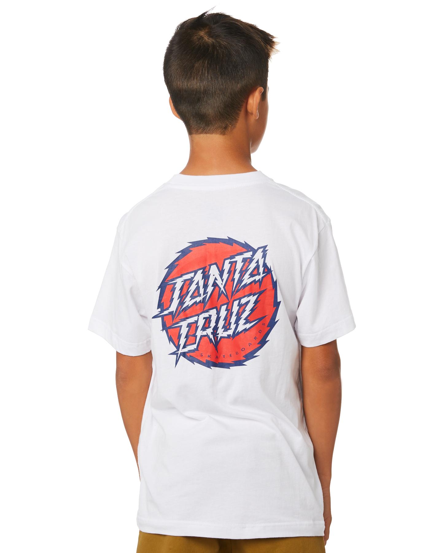 Storm Dot Regular LS Santa Cruz Mens T Shirt