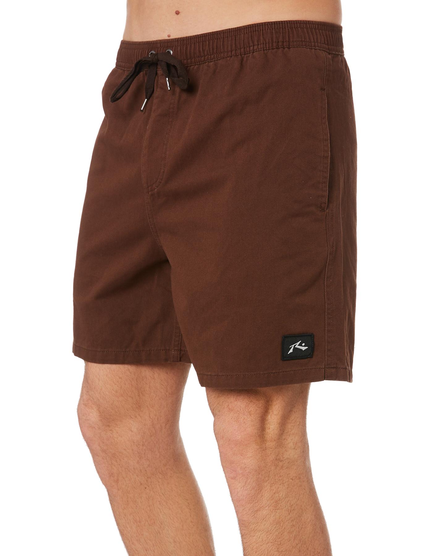 New-Rusty-Men-039-s-Hook-Elastic-Short-Cotton-Blue thumbnail 7