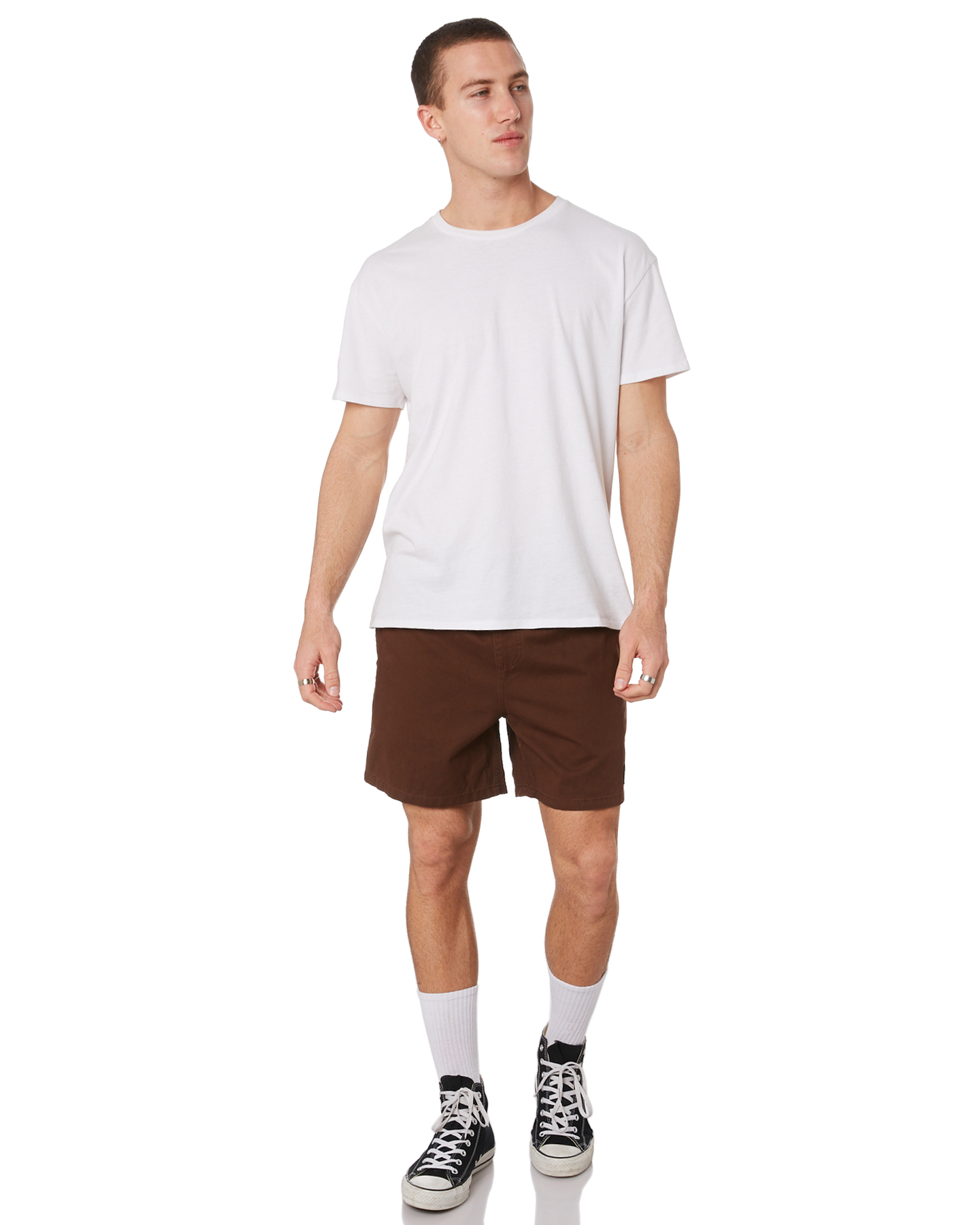 New-Rusty-Men-039-s-Hook-Elastic-Short-Cotton-Blue thumbnail 10