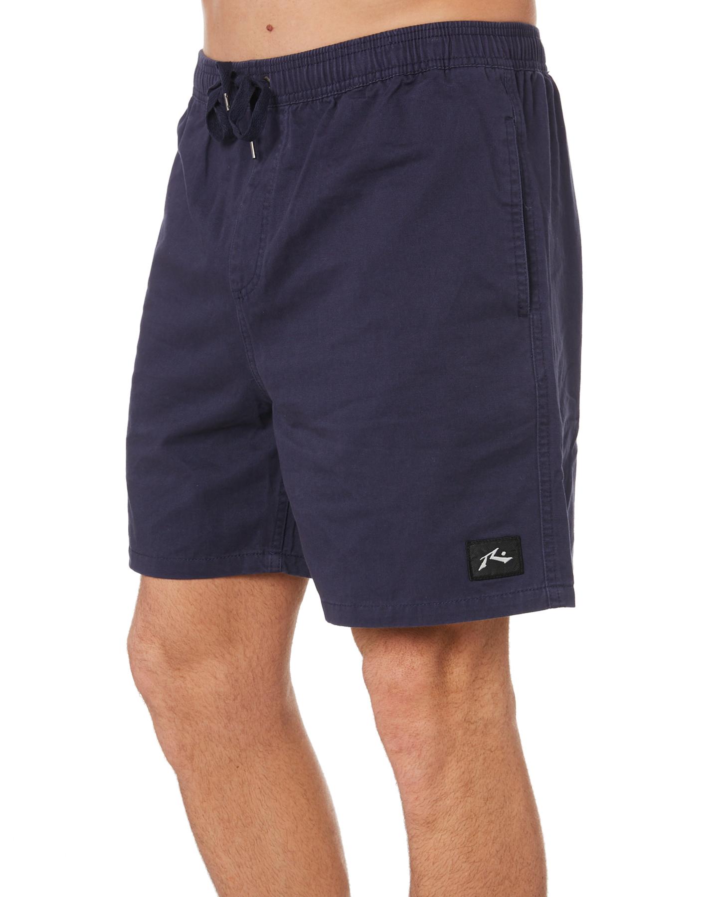 New-Rusty-Men-039-s-Hook-Elastic-Short-Cotton-Blue thumbnail 12