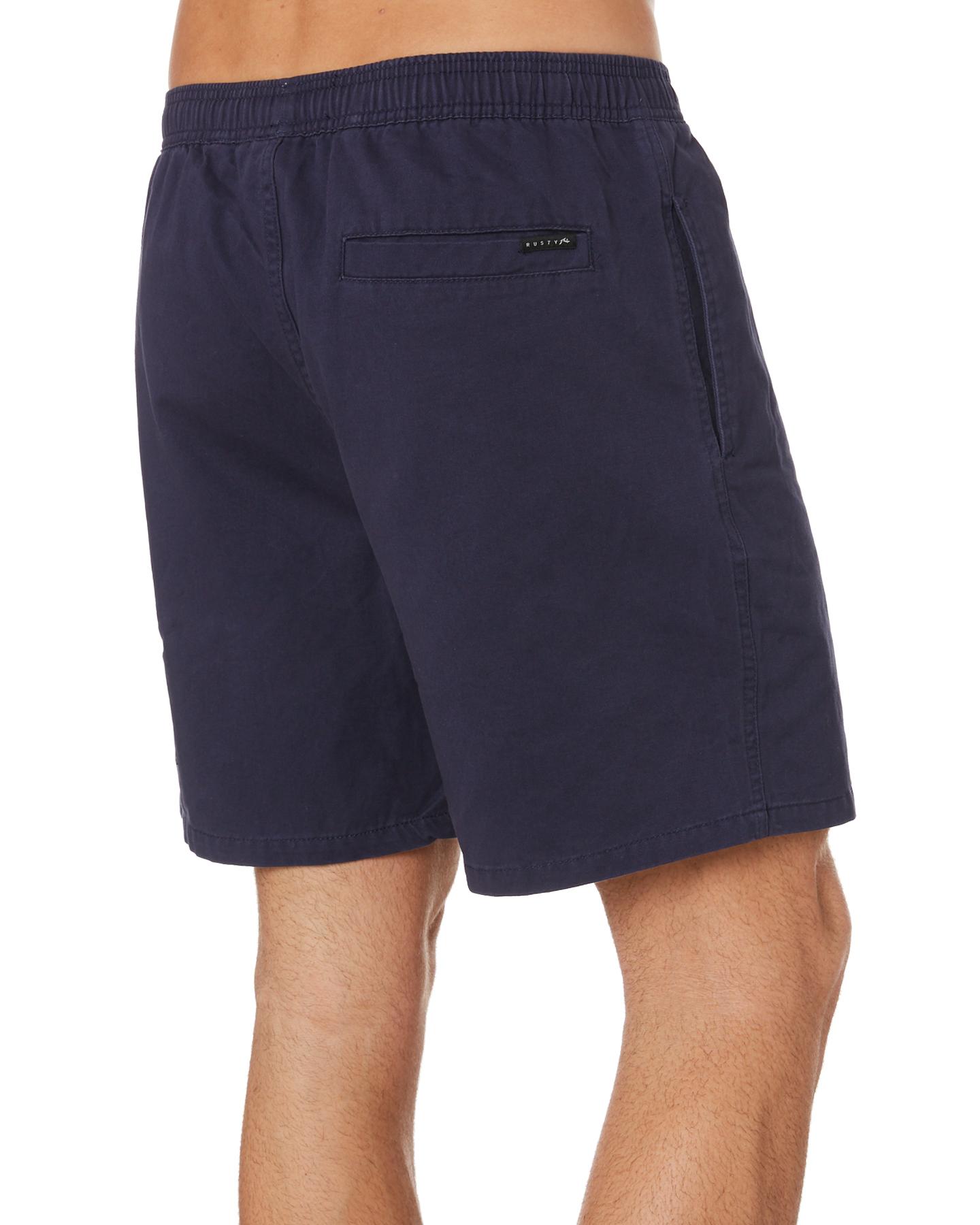 New-Rusty-Men-039-s-Hook-Elastic-Short-Cotton-Blue thumbnail 14