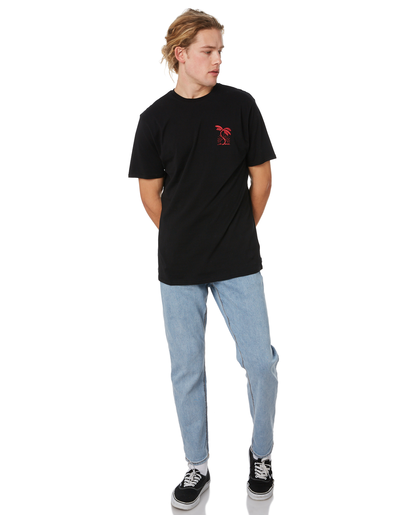 New-Swell-Men-039-s-Paradiso-Mens-Tee-Crew-Neck-Short-Sleeve-Cotton-Soft thumbnail 10