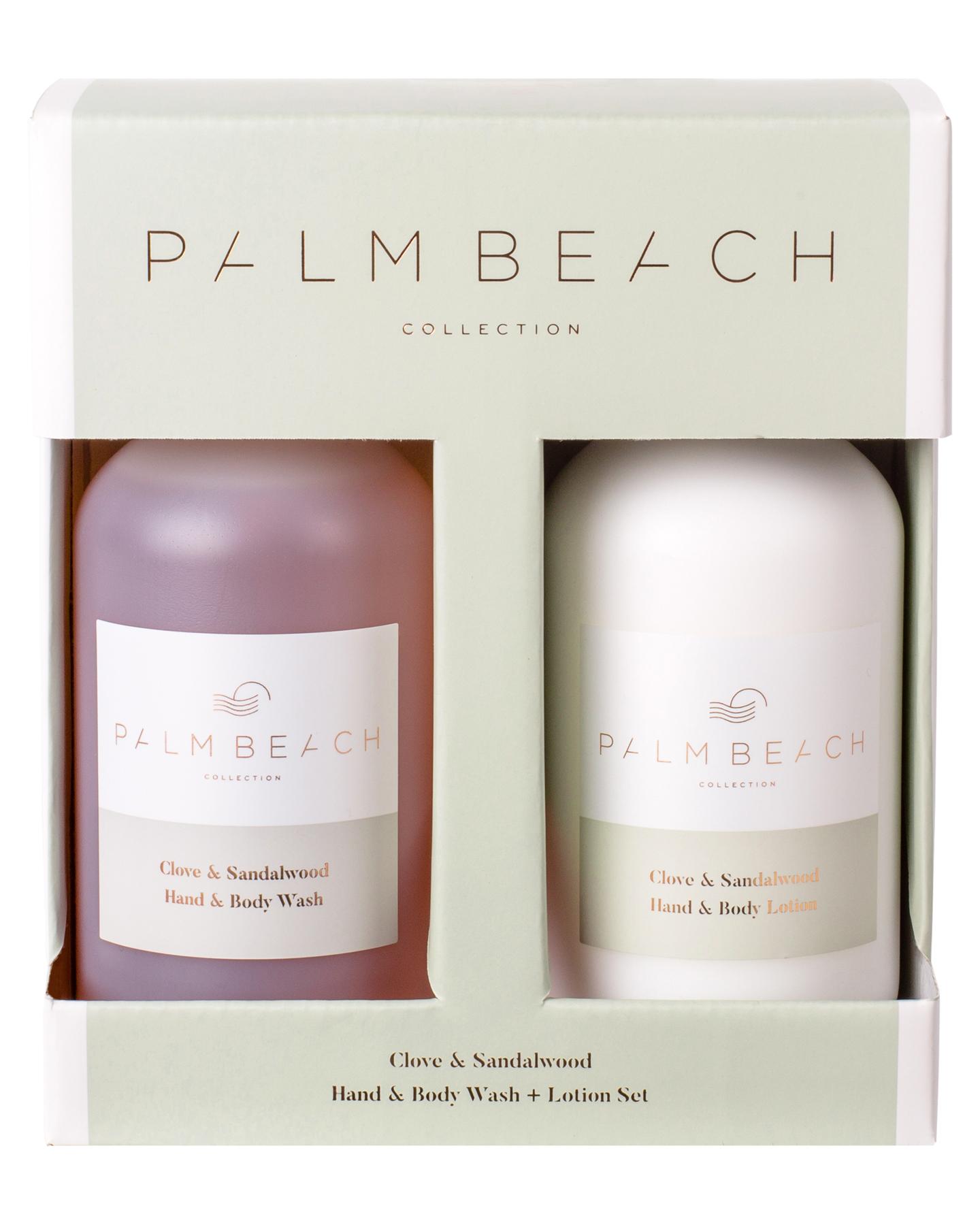 Palm Beach Collection Clove And Sandalwood Hand And Body Gift Pack Clove And Sandalwood Clove And Sandalwood