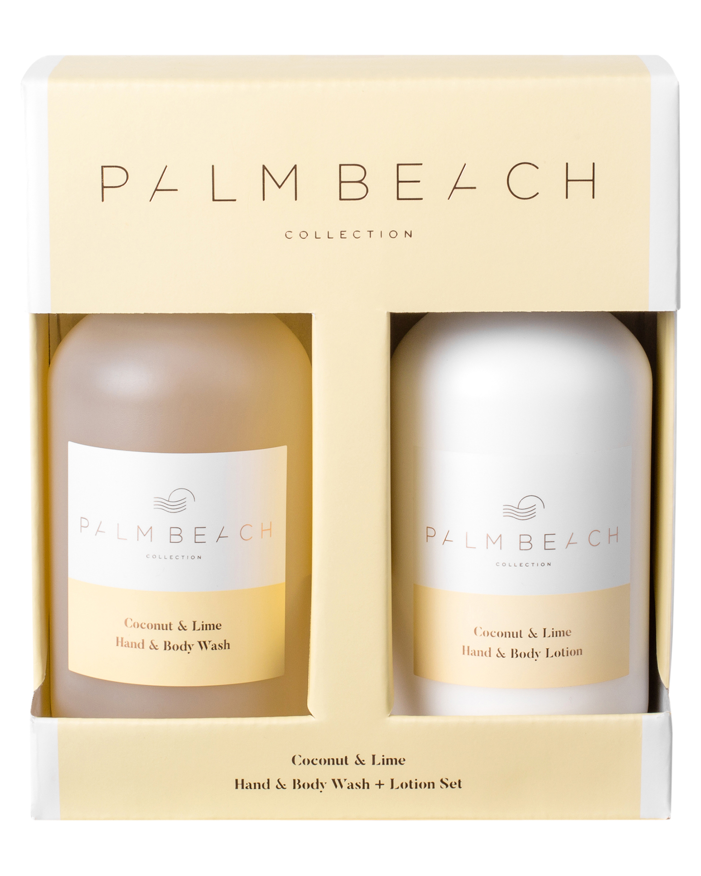 Palm Beach Collection Coconut And Lime Hand And Body Gift Pack Coconut And Lime Coconut And Lime