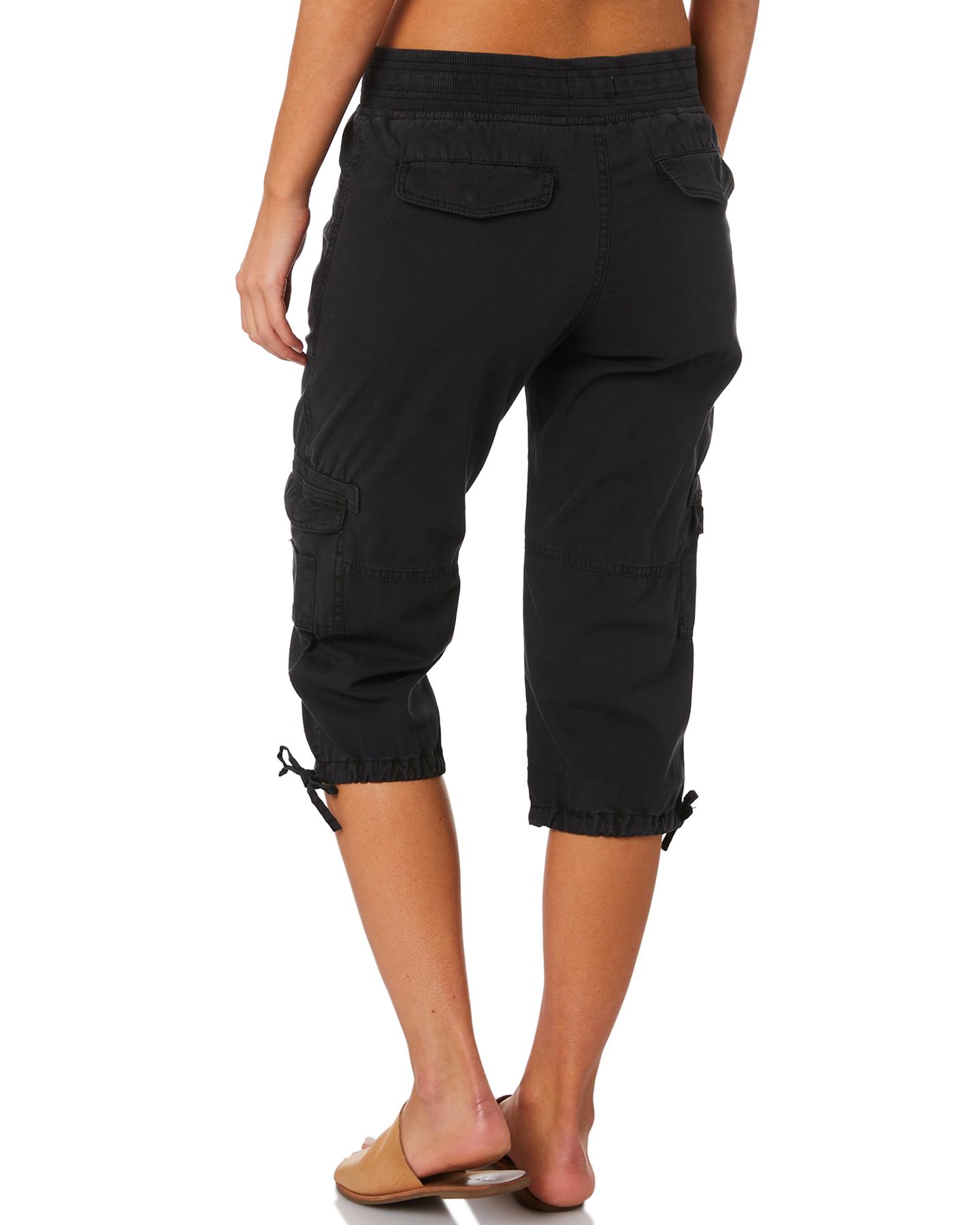 New-Swell-Women-039-s-Mayfair-3-4-Cargo-Pant-Cotton-Green thumbnail 13