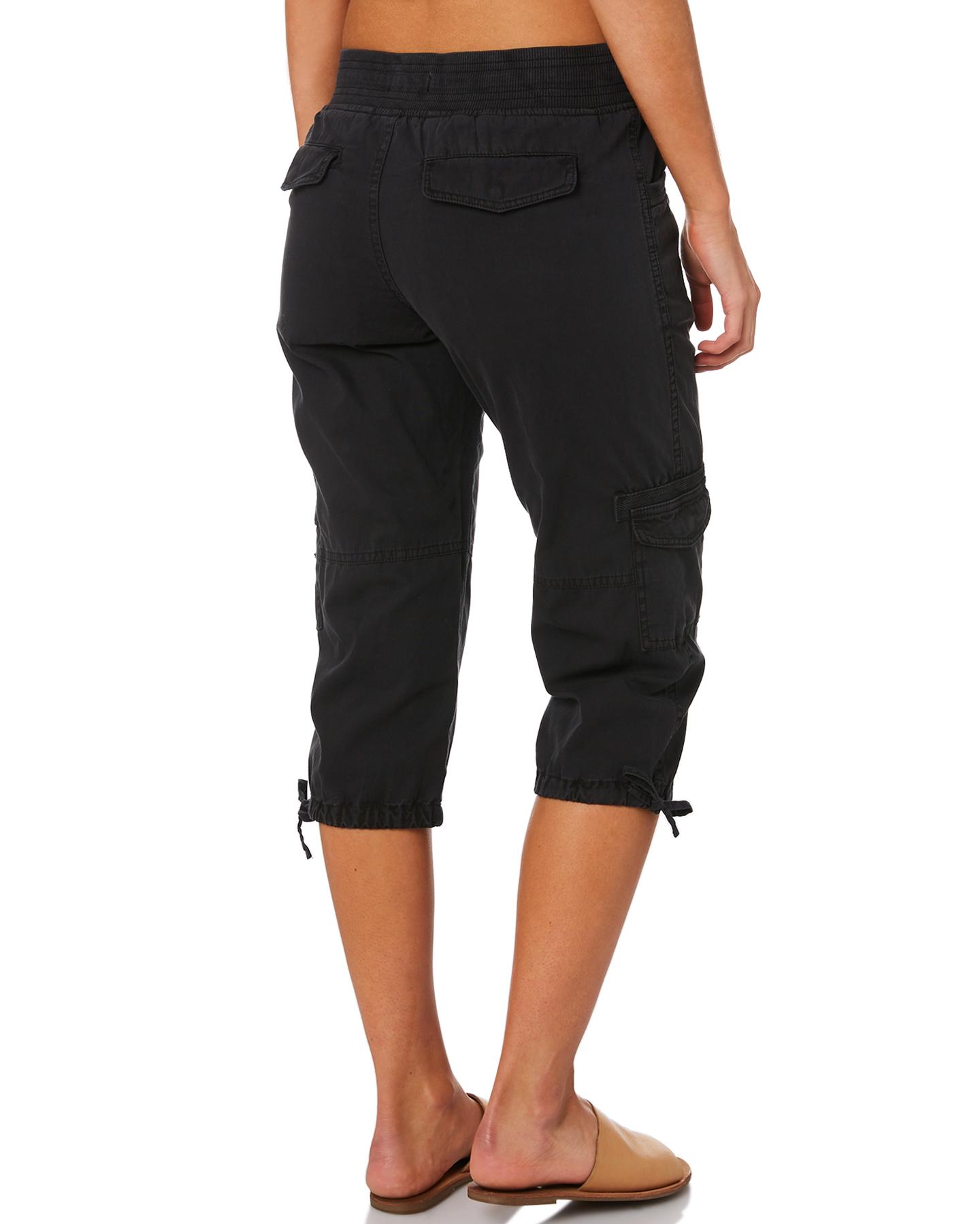 New-Swell-Women-039-s-Mayfair-3-4-Cargo-Pant-Cotton-Green thumbnail 14