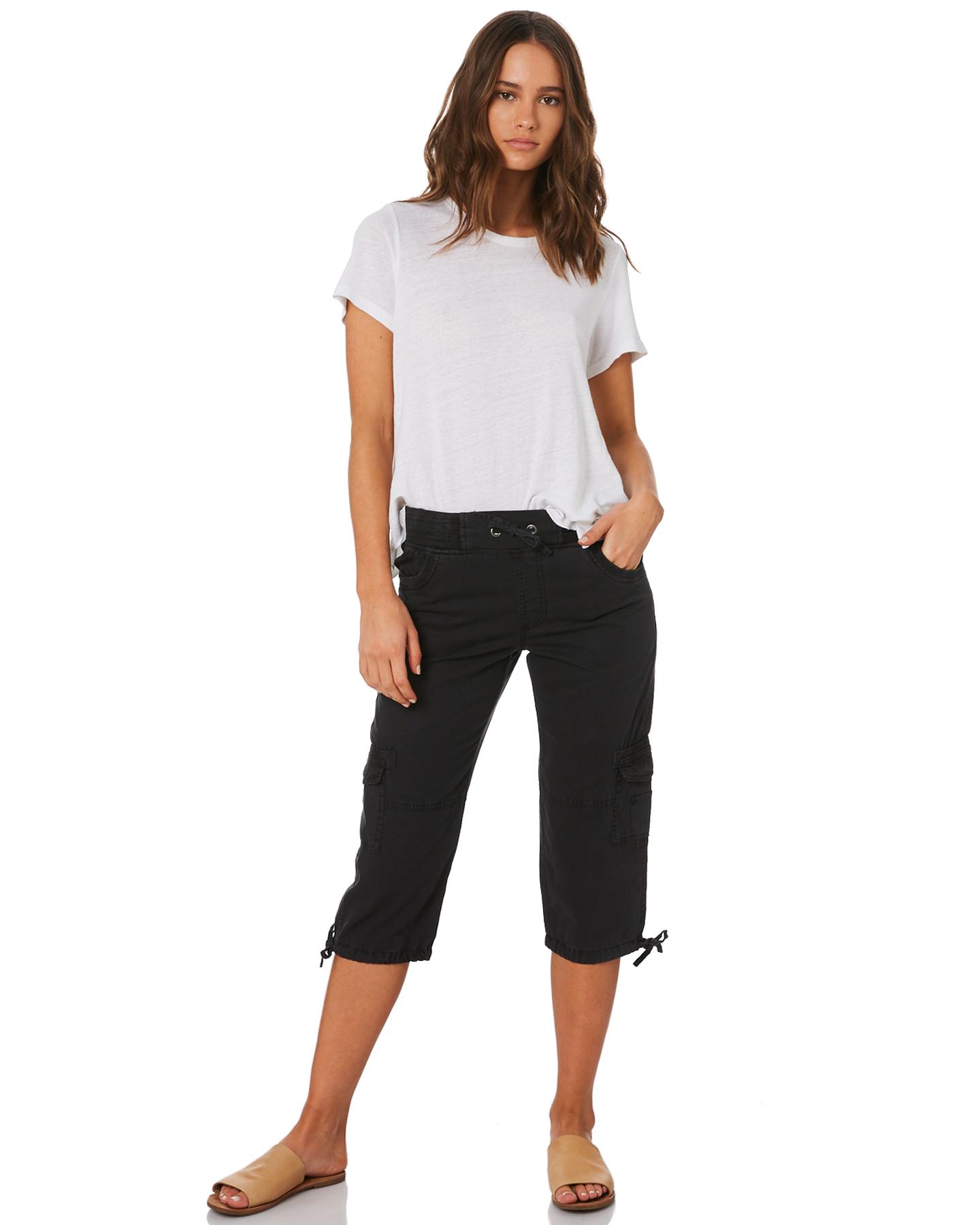 New-Swell-Women-039-s-Mayfair-3-4-Cargo-Pant-Cotton-Green thumbnail 15