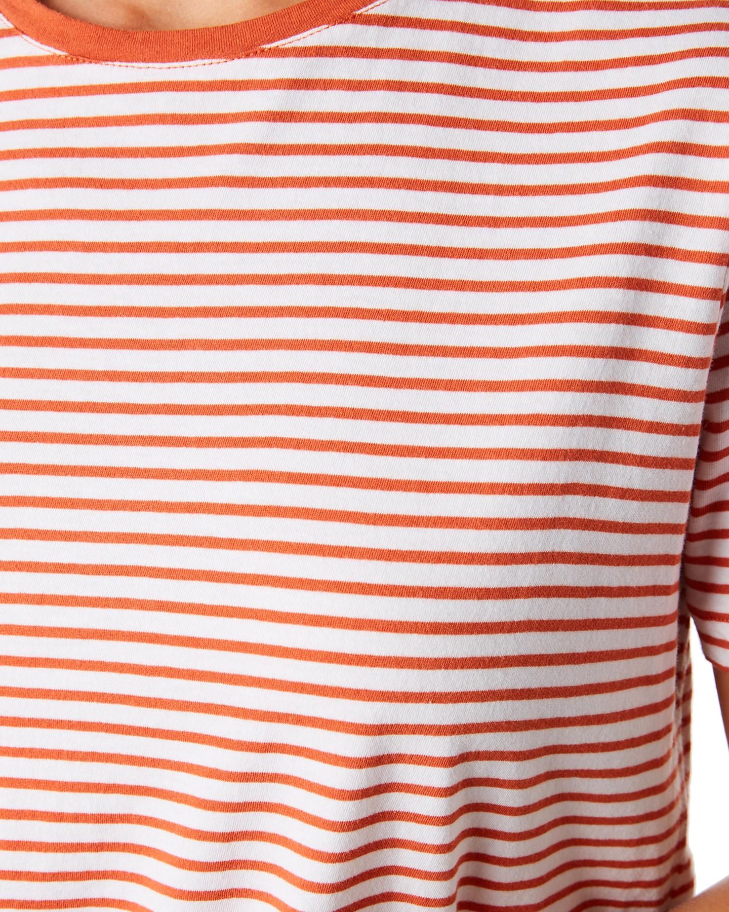 New-Swell-Women-039-s-Jesse-Stripe-Tee-Crew-Neck-Short-Sleeve-Cotton thumbnail 14
