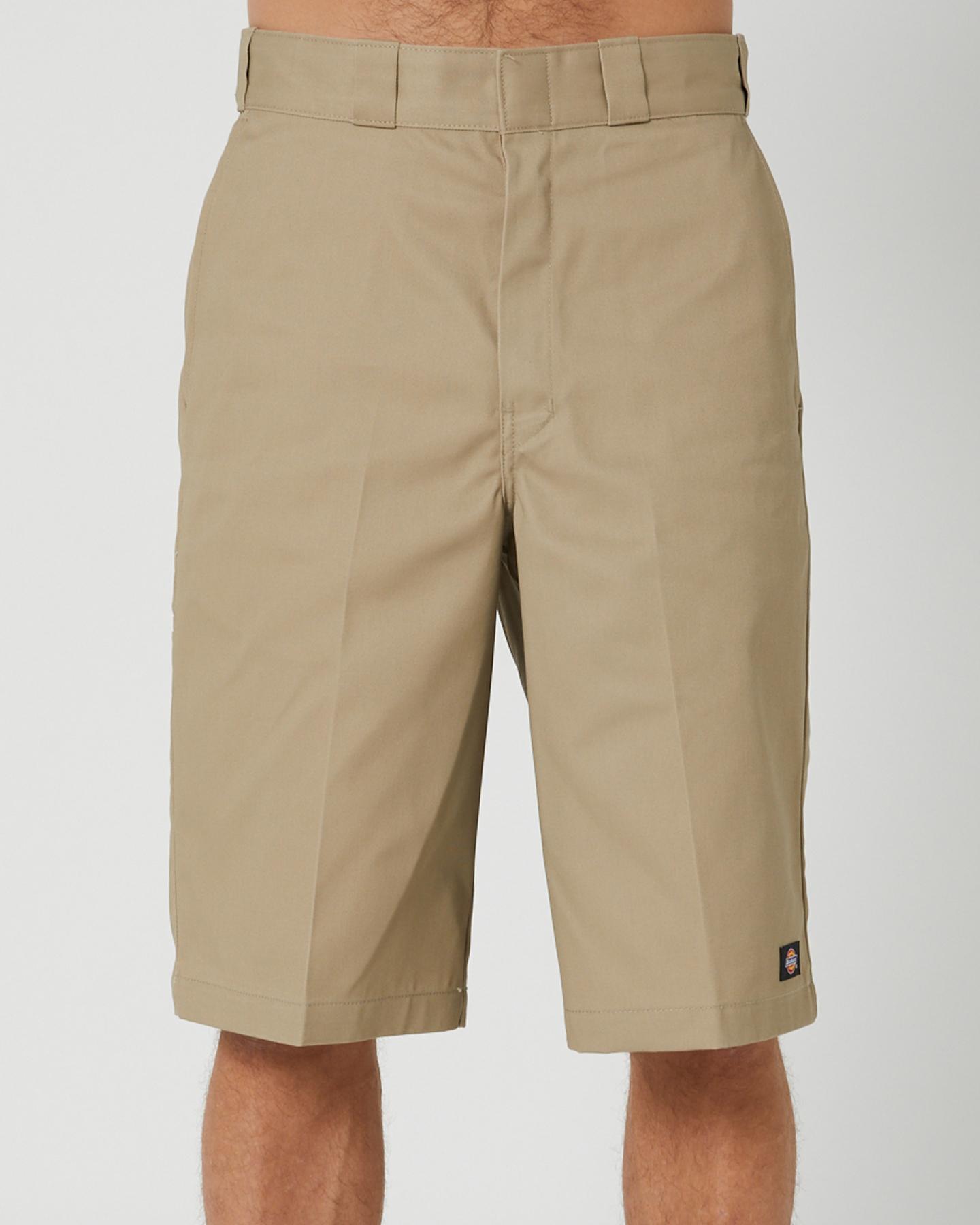 Dickies 13 Inch Multi Pocket Work Shorts Khaki Khaki