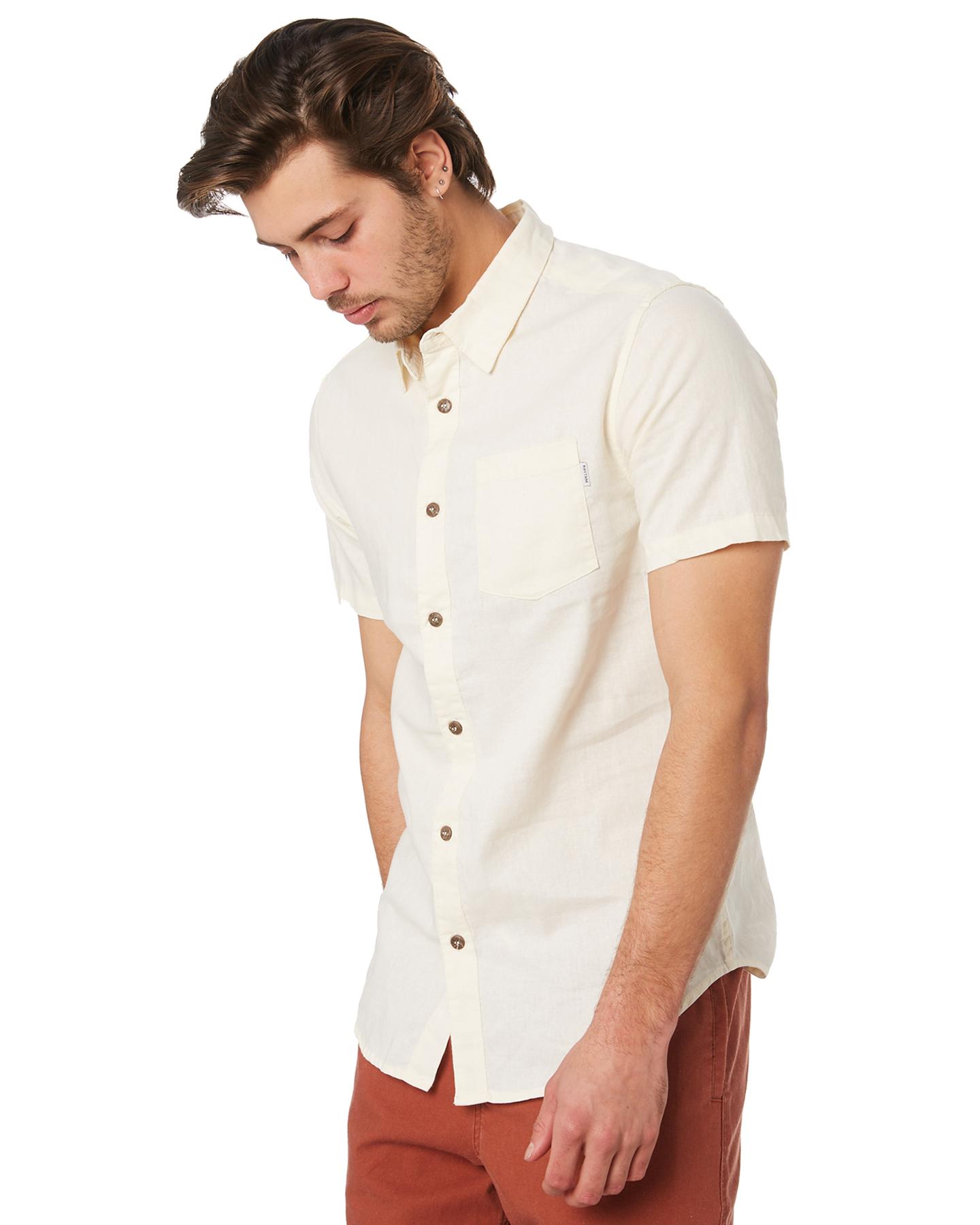 Rhythm Apartment Short Sleeve Shirt in White