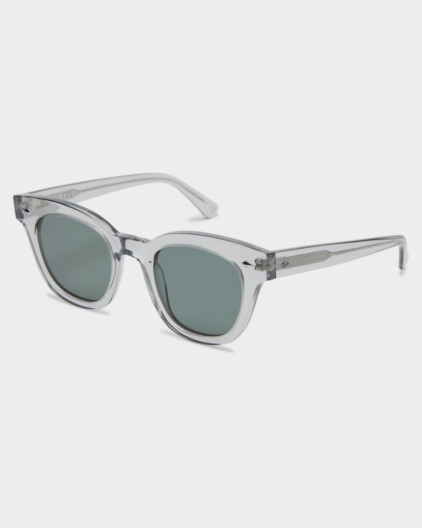 Epokhe Dylan Sunglasses Smoke Crystal Polish Smoke Crystal Polish