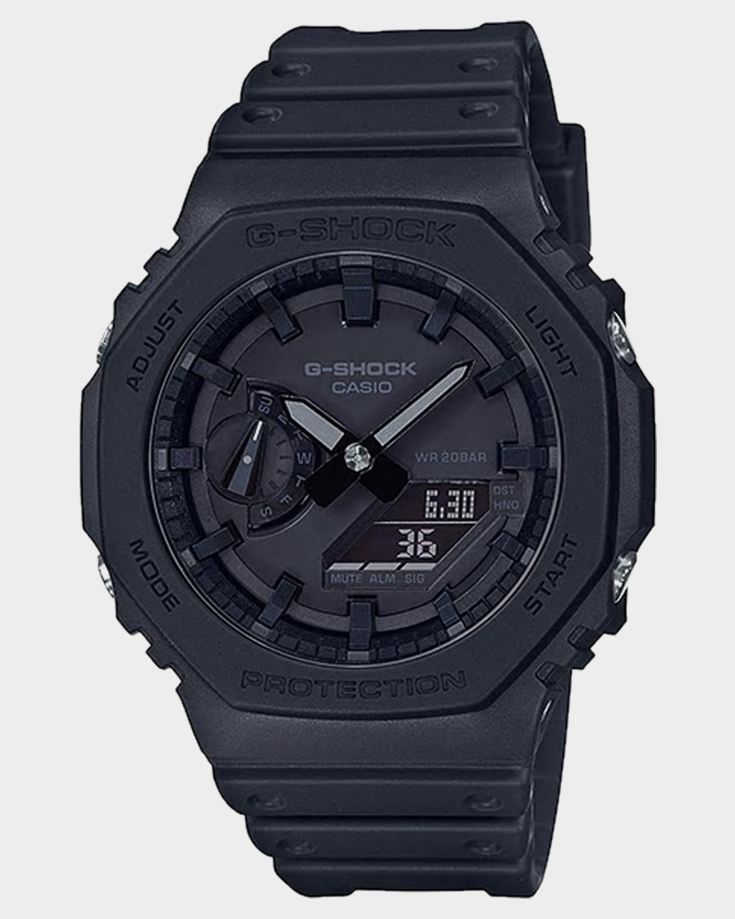 G Shock Ga2100 Analog Watch Black