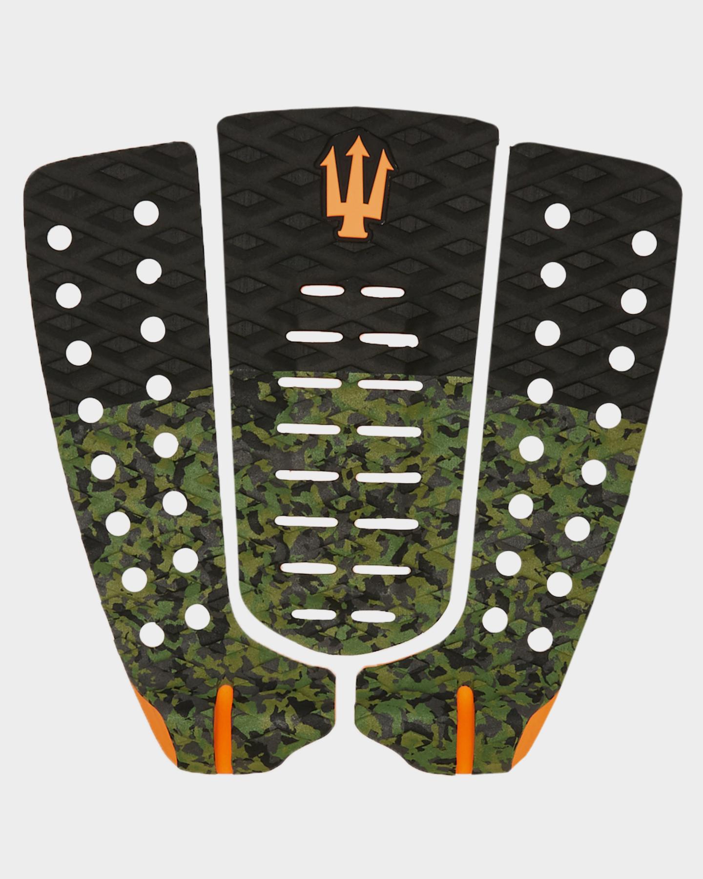 Fk Surf Tone 2 Tail Pad Camo Black Orange Camo Black Orange