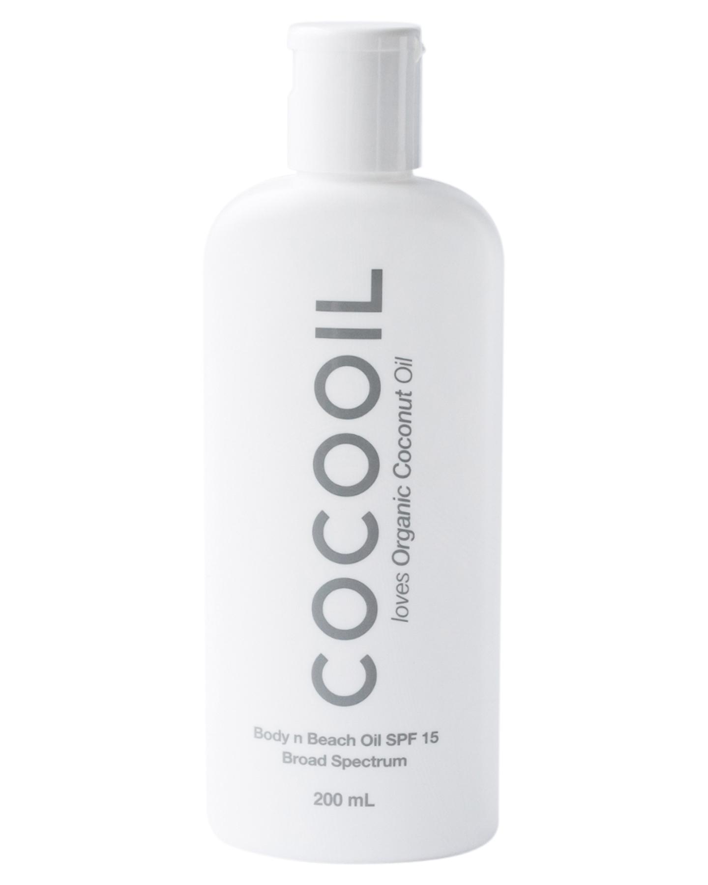 Cocooil 200Ml Body N Beach Oil Spf15 Natural
