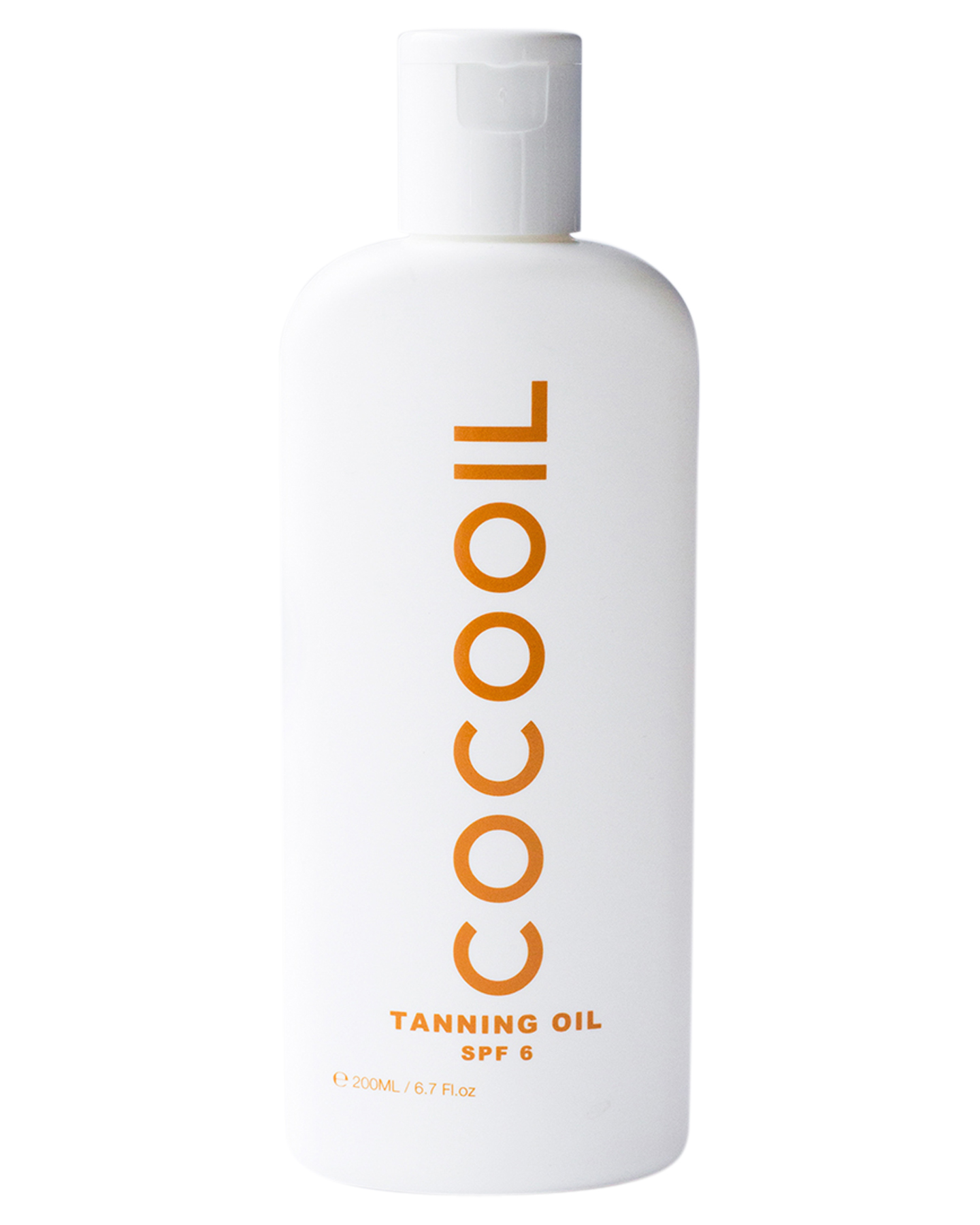 Cocooil 200Ml Tanning Oil Spf6 Natural