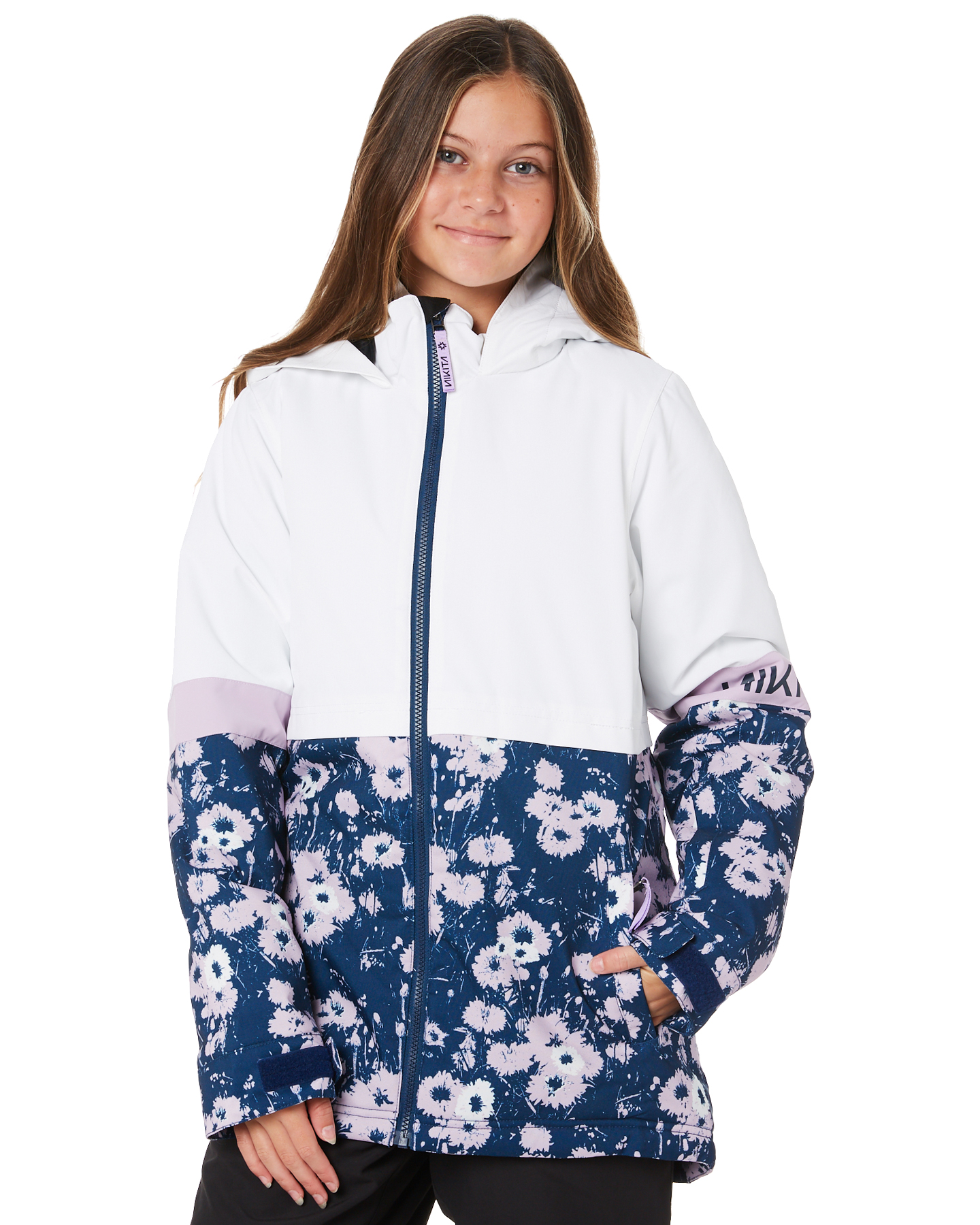Nikita Girls Lindan Jacket - Teen White