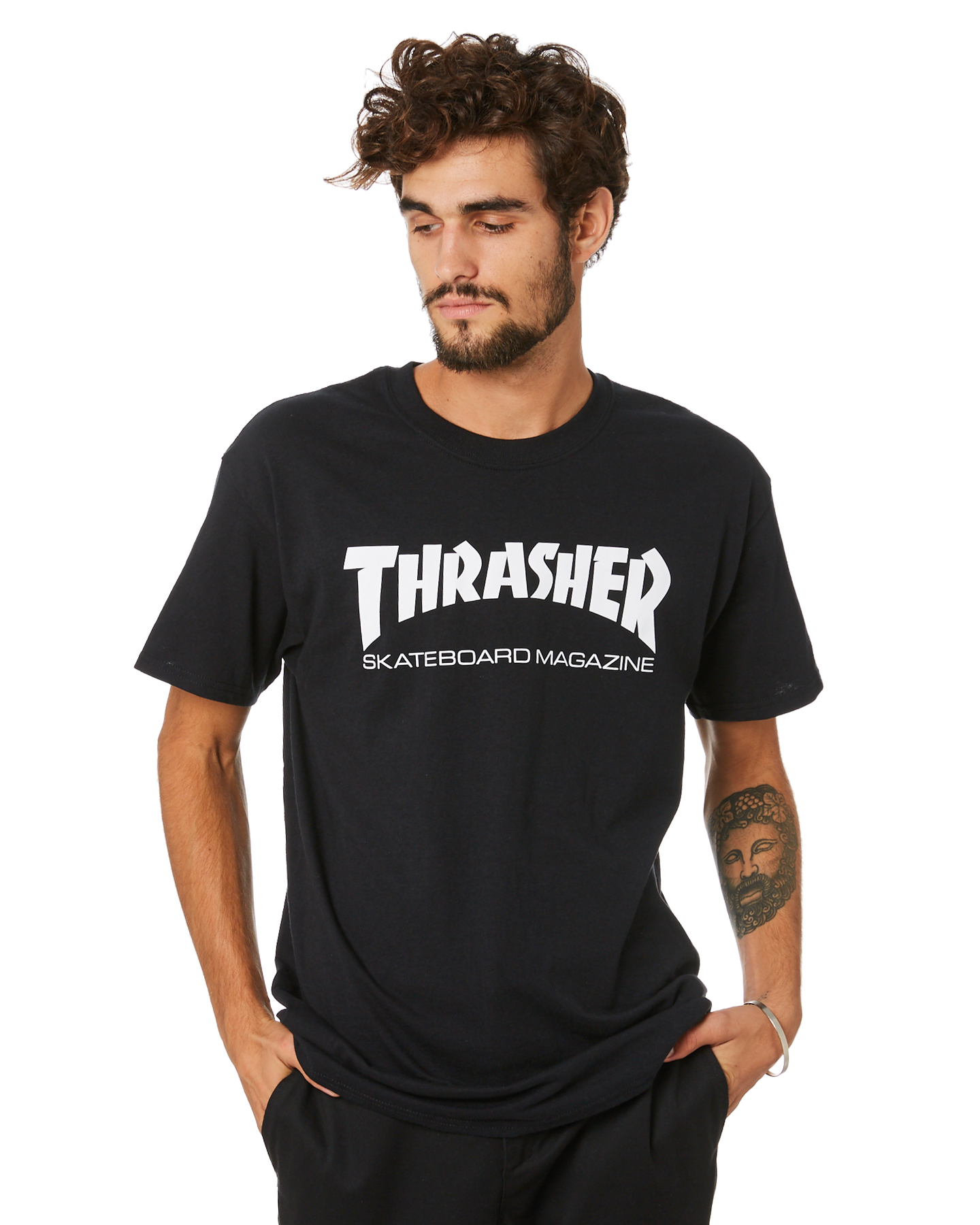 Thrasher Skate Mag Mens Tee Black