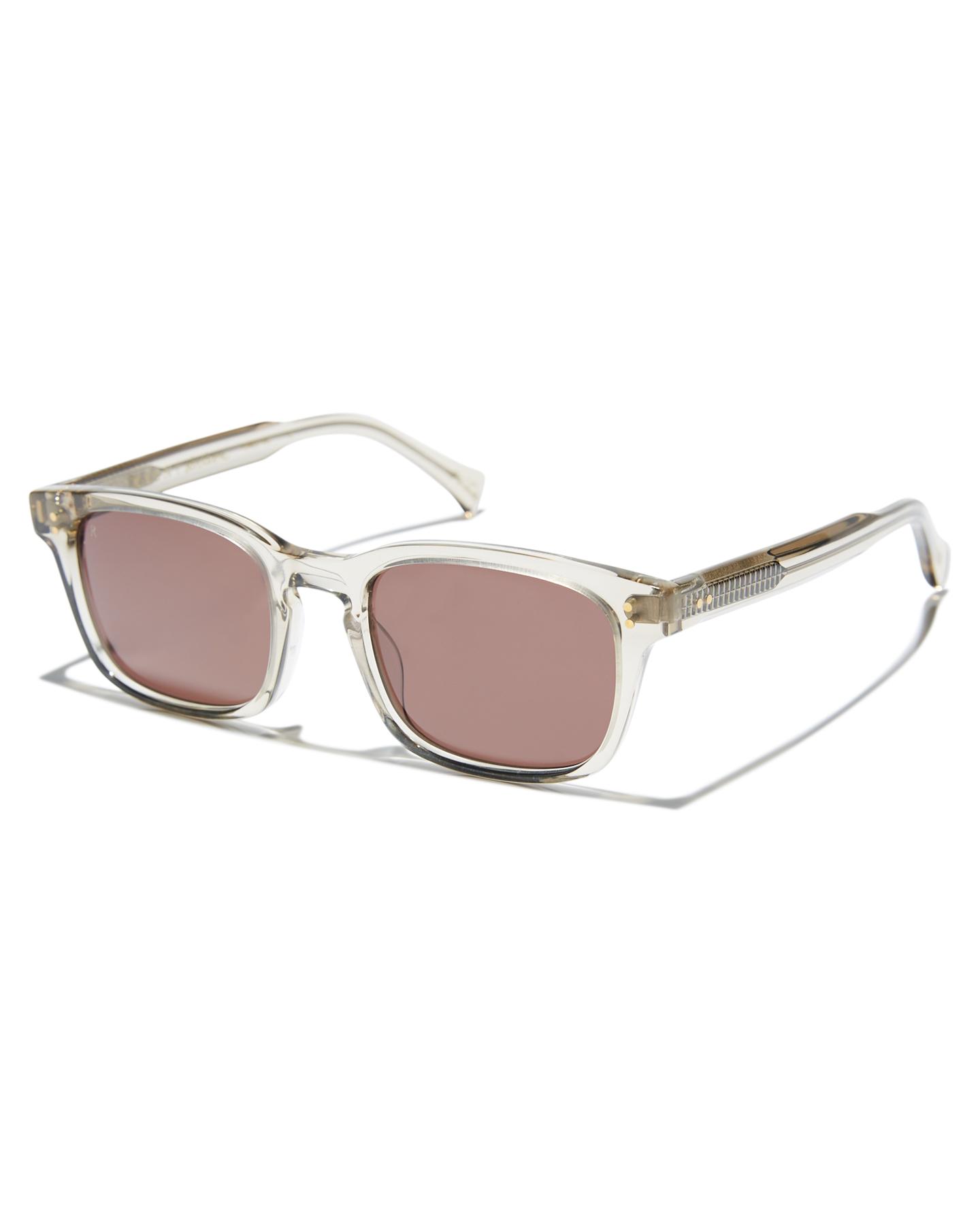 Raen Dodson Sunglasses Haze Plum Brown