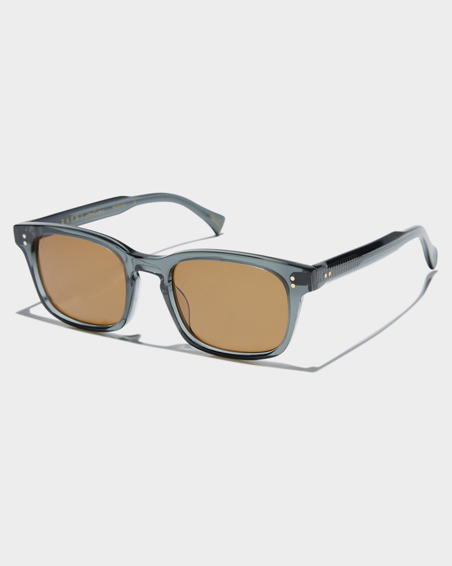Raen Dodson Polarised Sunglasses Slate Vibrant Brown