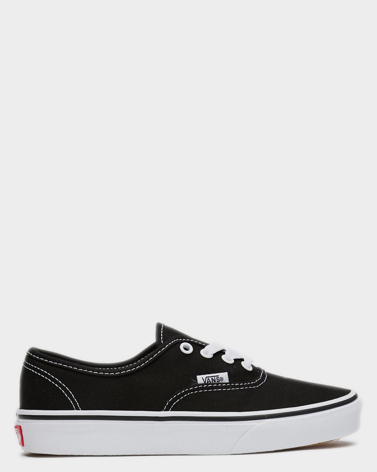 Vans Authentic Shoe - Youth Black White