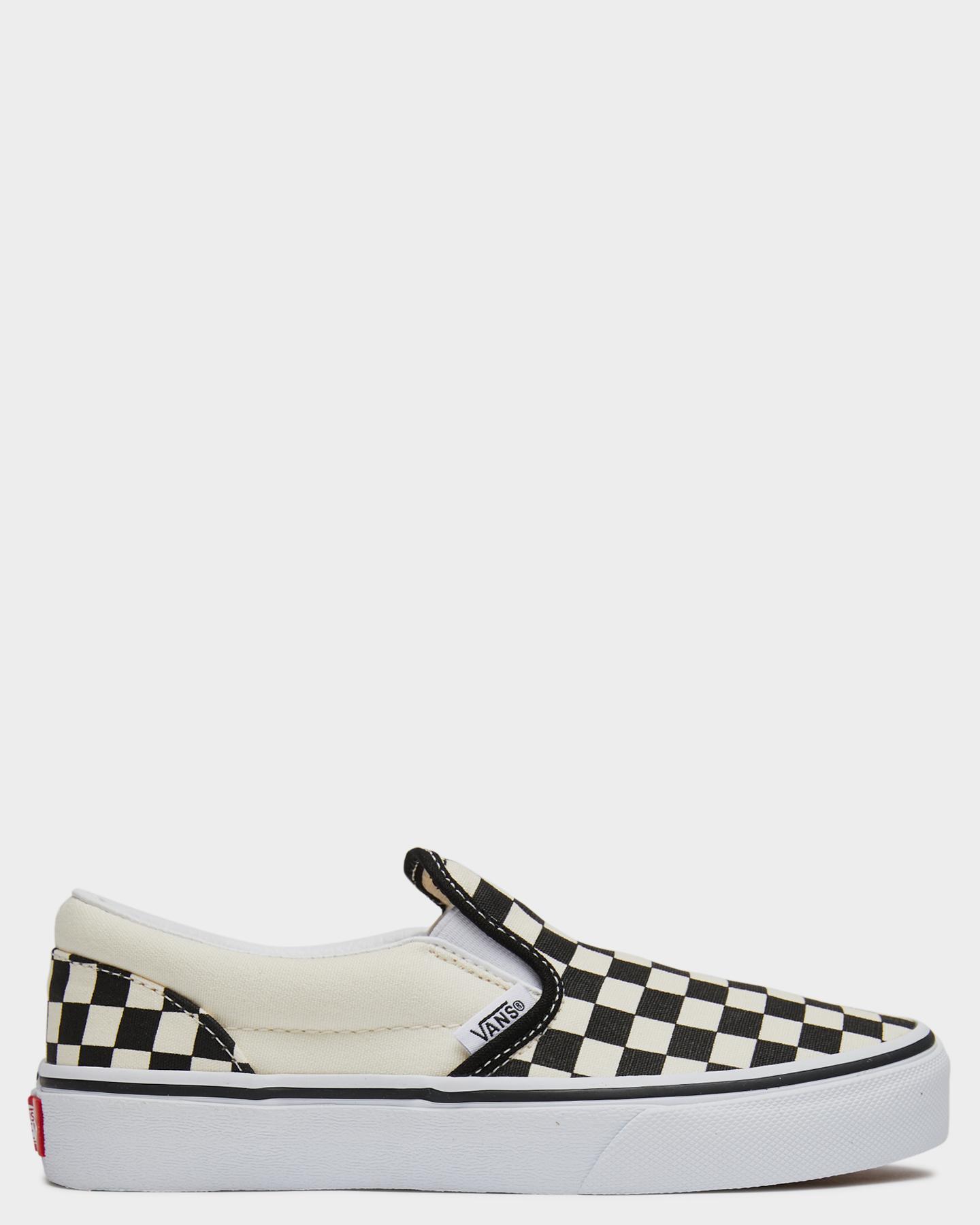 Vans Classic Slip On Shoe - Youth Black