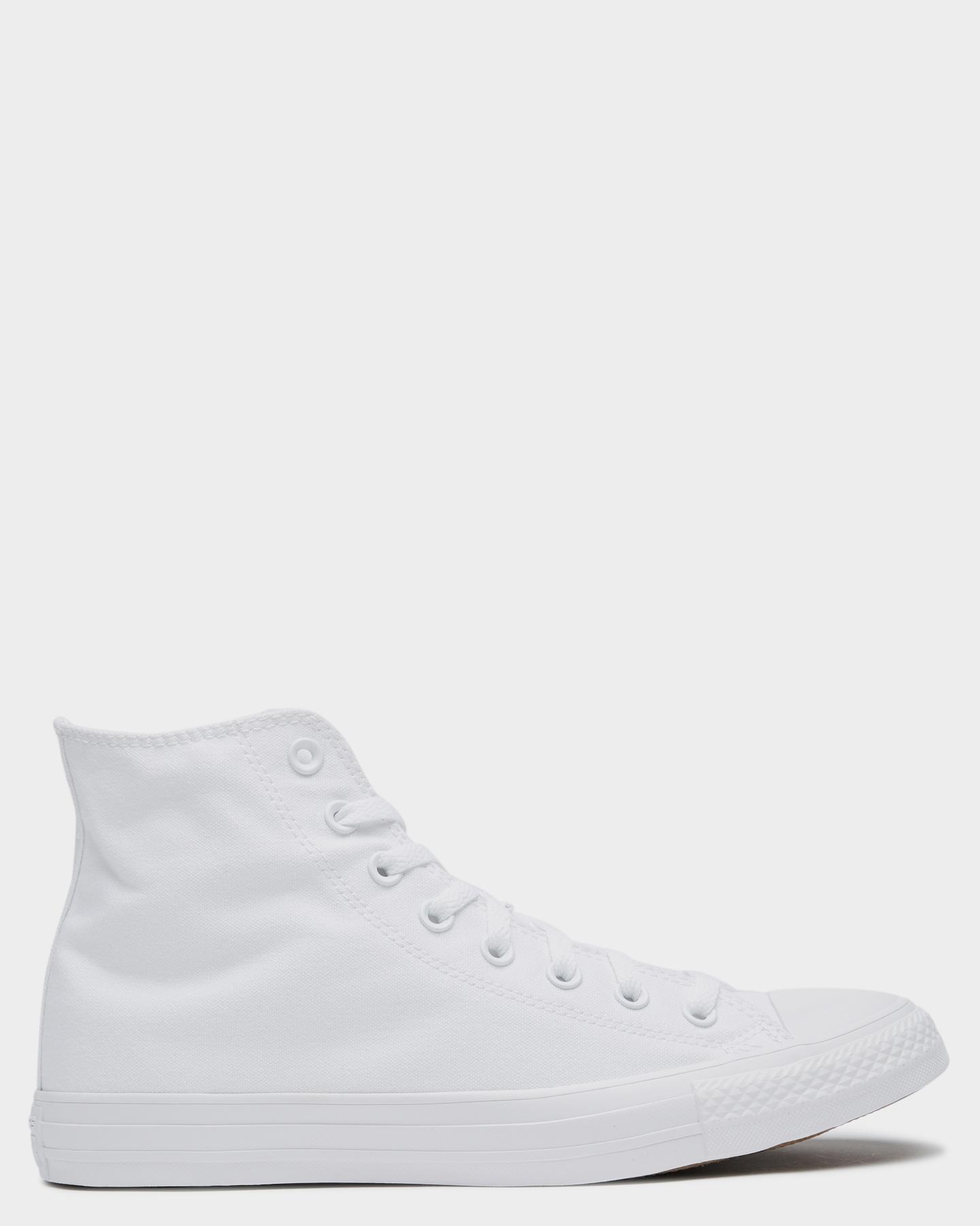 Converse Mens Chuck Taylor All Star Hi Shoe White Monochrome