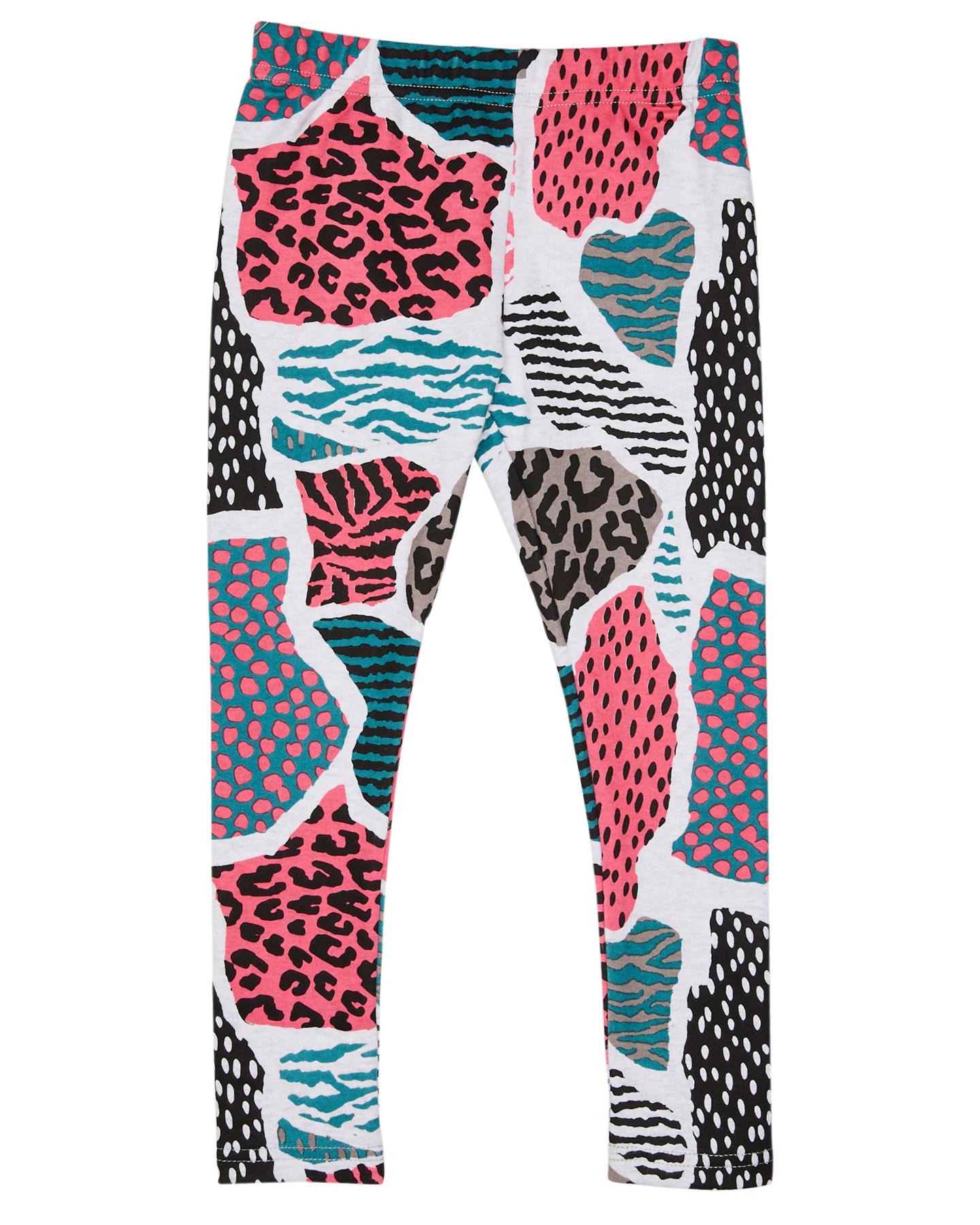 Kissed By Radicool Girls Leopard Camo Legging Kids Leopard Camo
