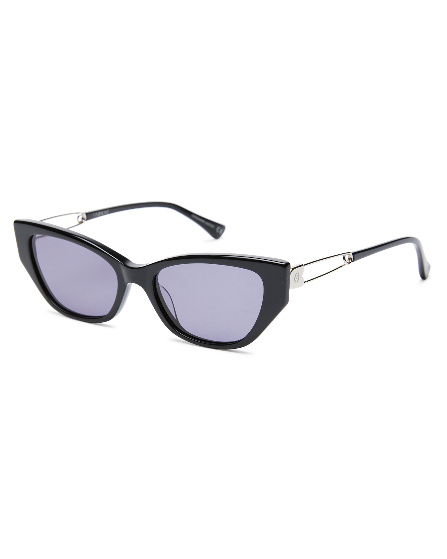 Epokhe Wire Sunglasses Black Polished Black