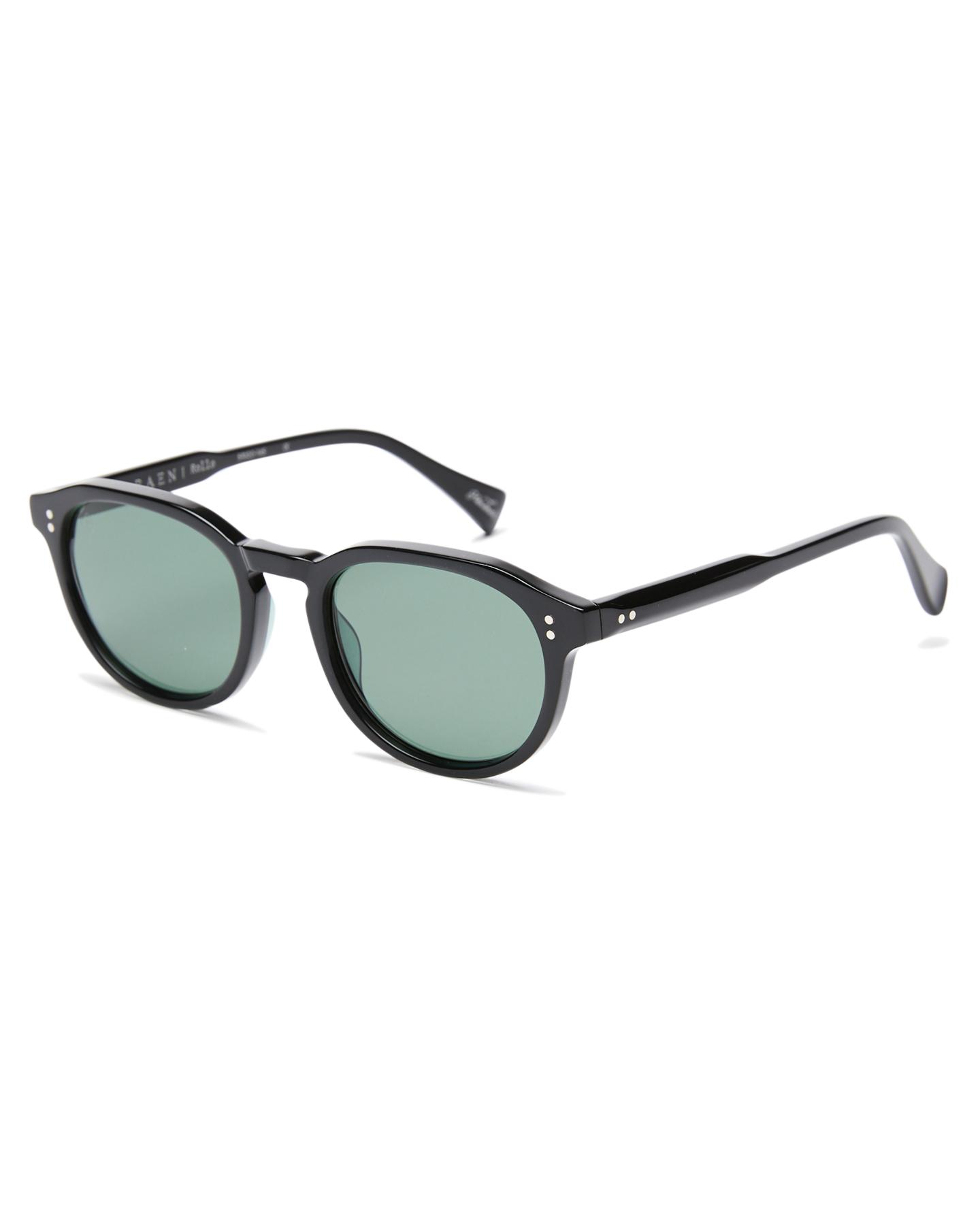 Raen Rollo Sunglasses Crystal Black