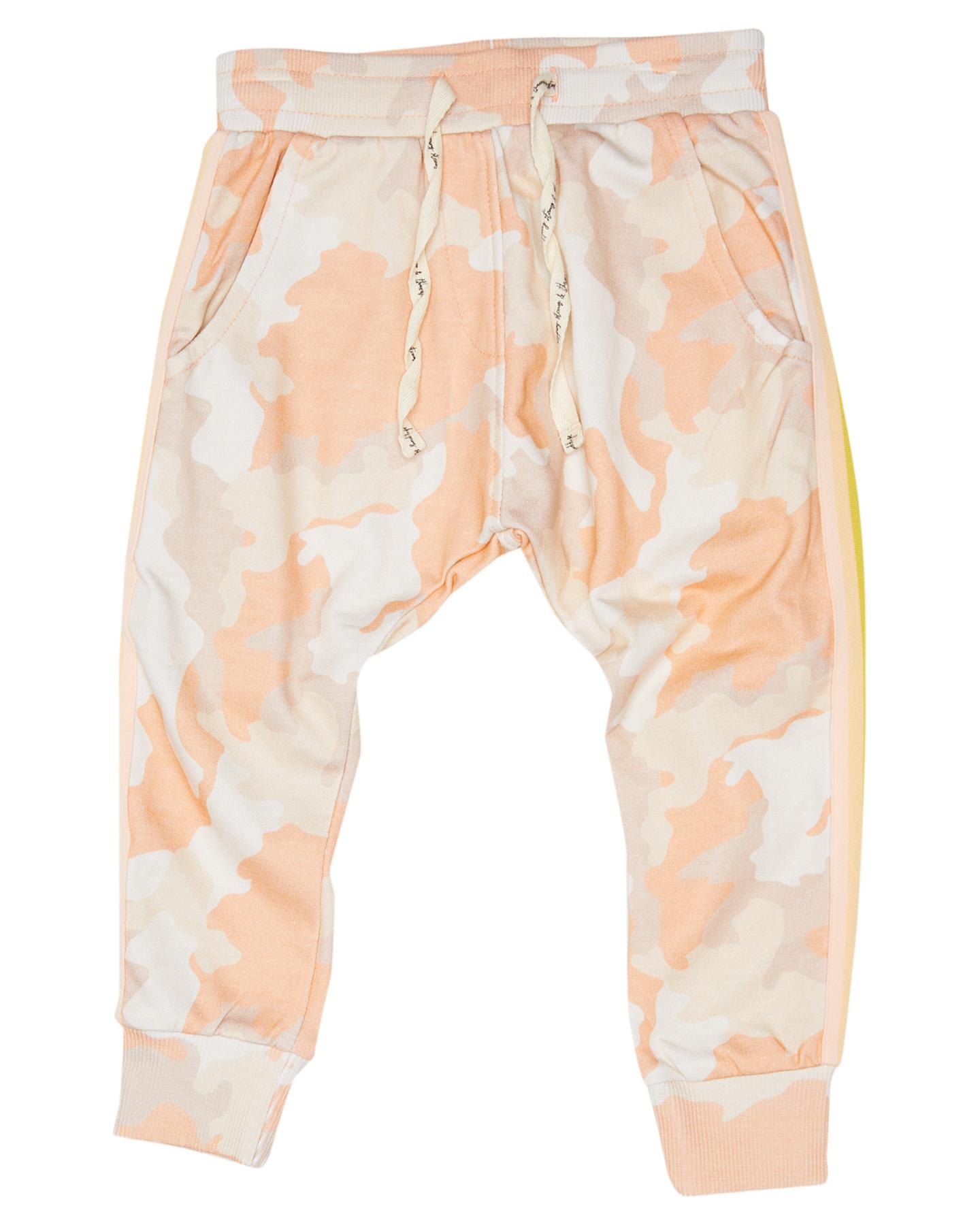 Munster Kids Girls Enchanted Fleece Pant - Kids Pastel Camo