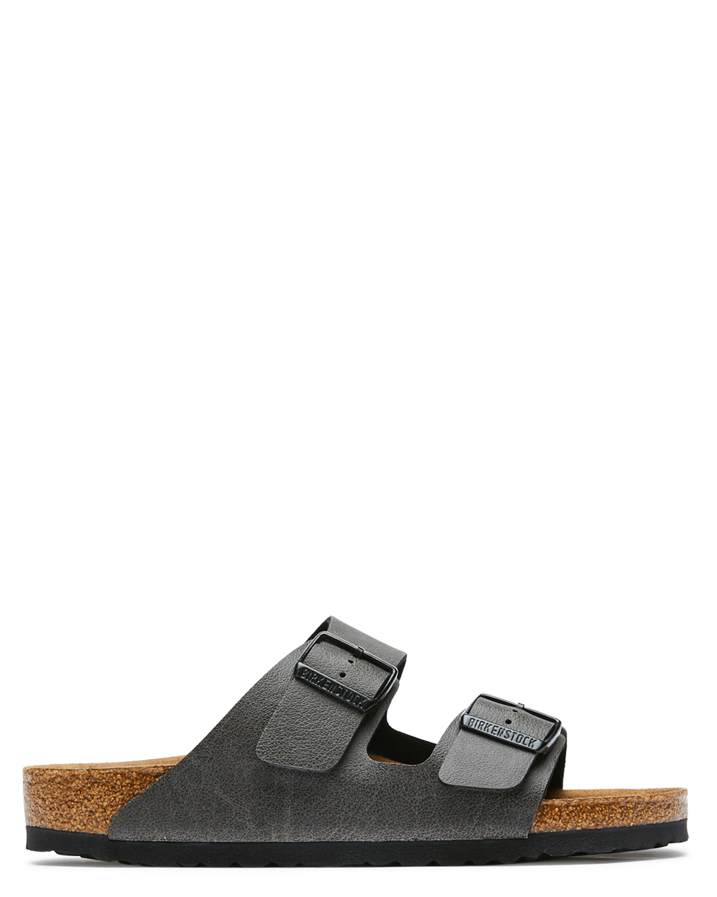 Birkenstock Mens Arizona Vegan Sandal Anthracite Anthracite