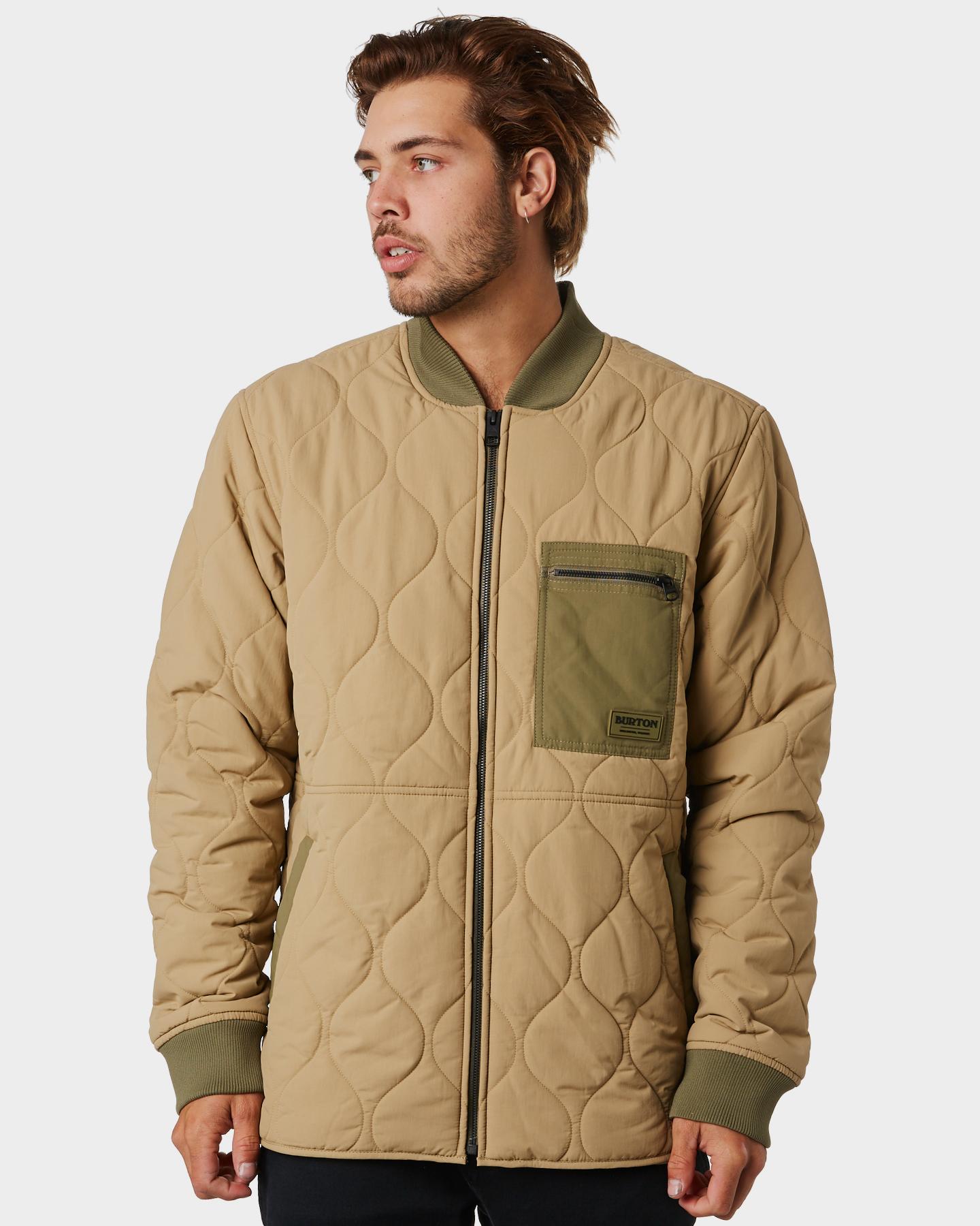 Burton Mallet Mens Jacket Kelp Kelp