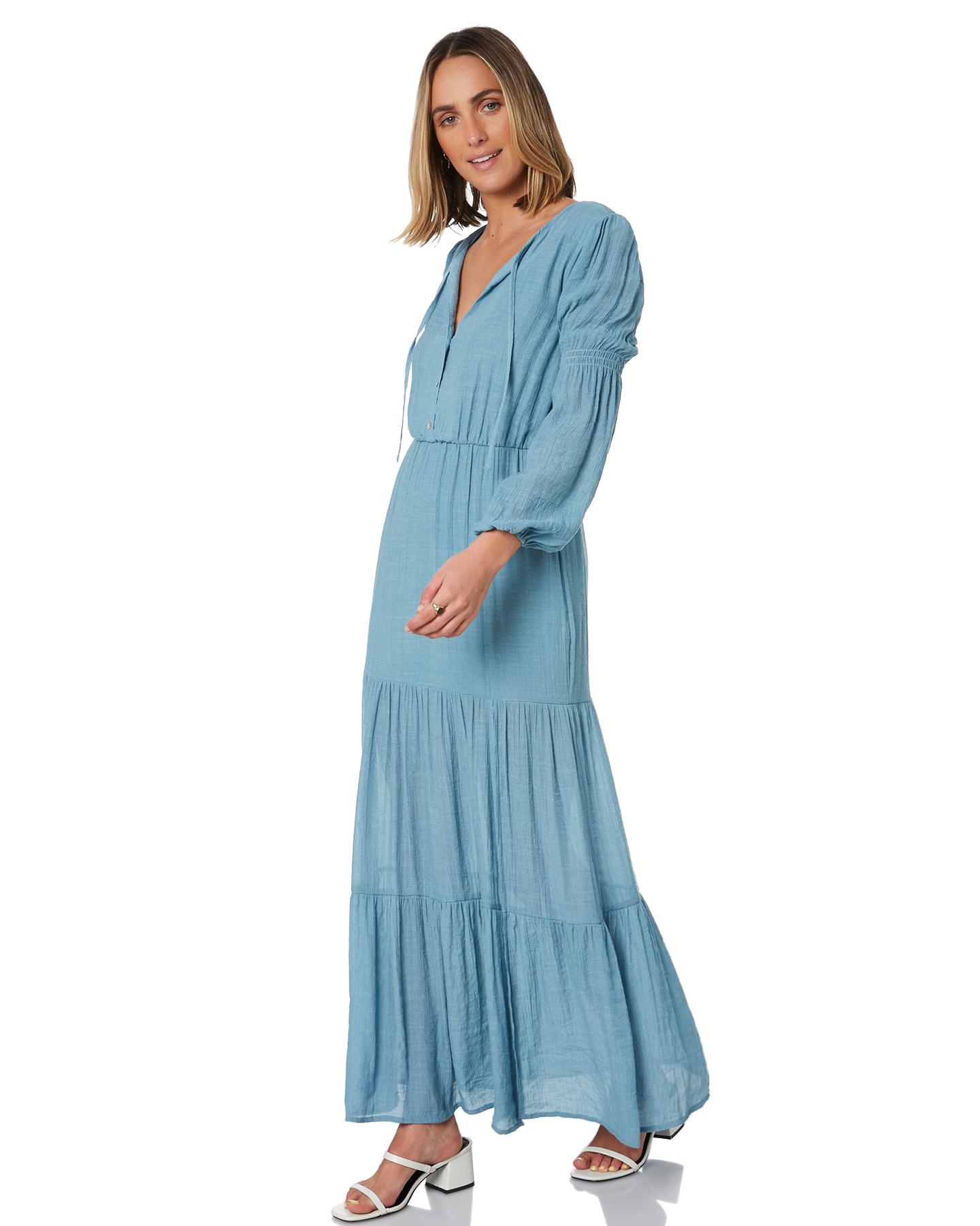 Minkpink My Wild Heart Maxi Dress Blue