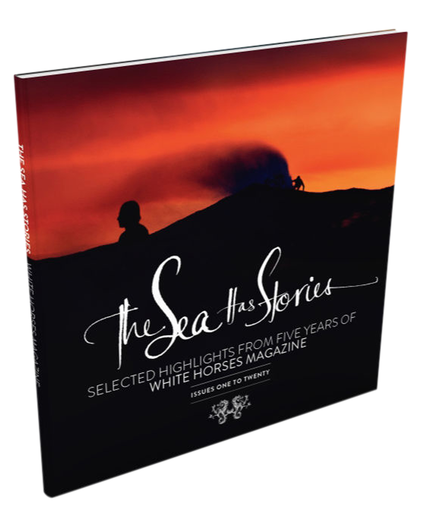 White Horses Magazine The Sea Has Stories Book By White Horses Red Black