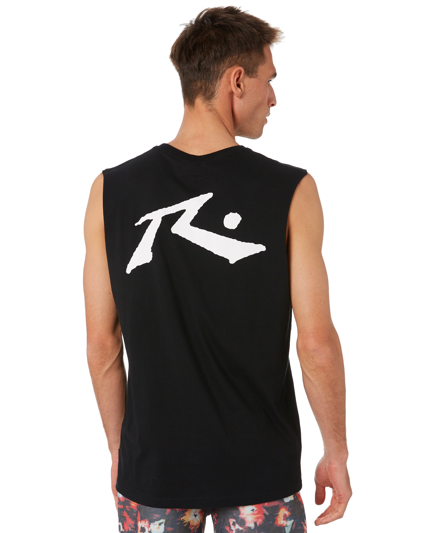 Rusty Competition Mens Muscle Black