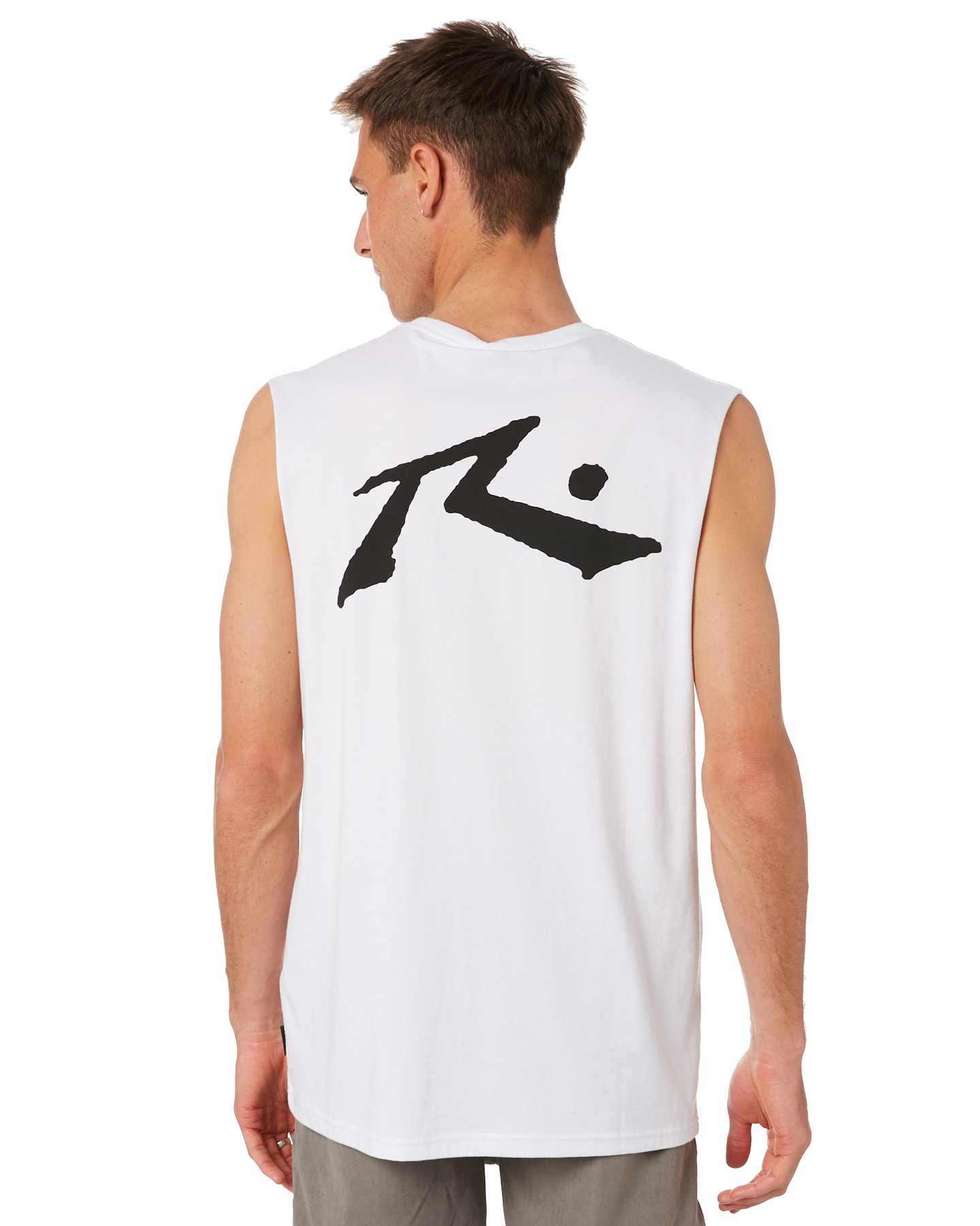 Rusty Competition Mens Muscle White