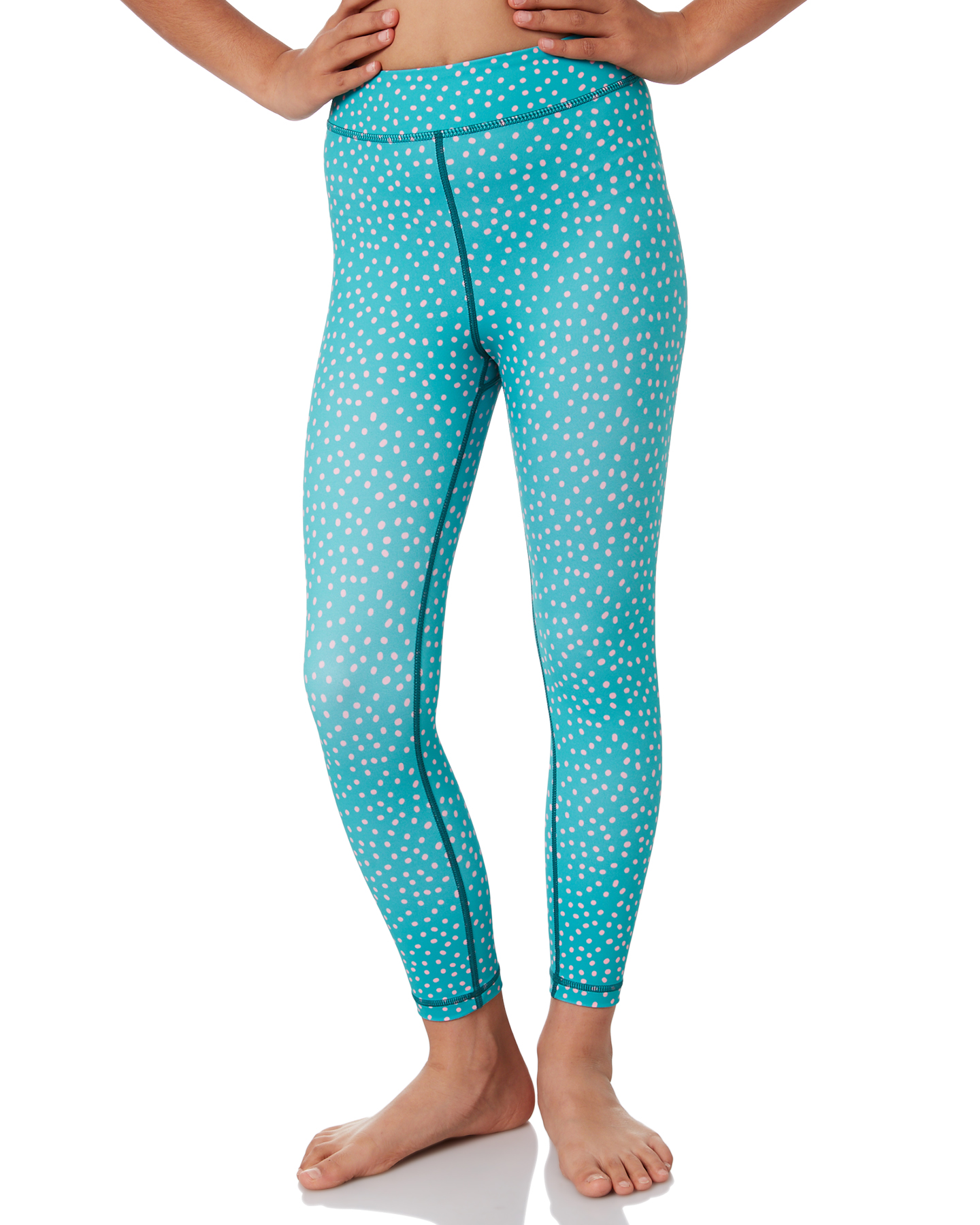 Sunny Active Girls Green Sprinkles Tights Green Sprinkles