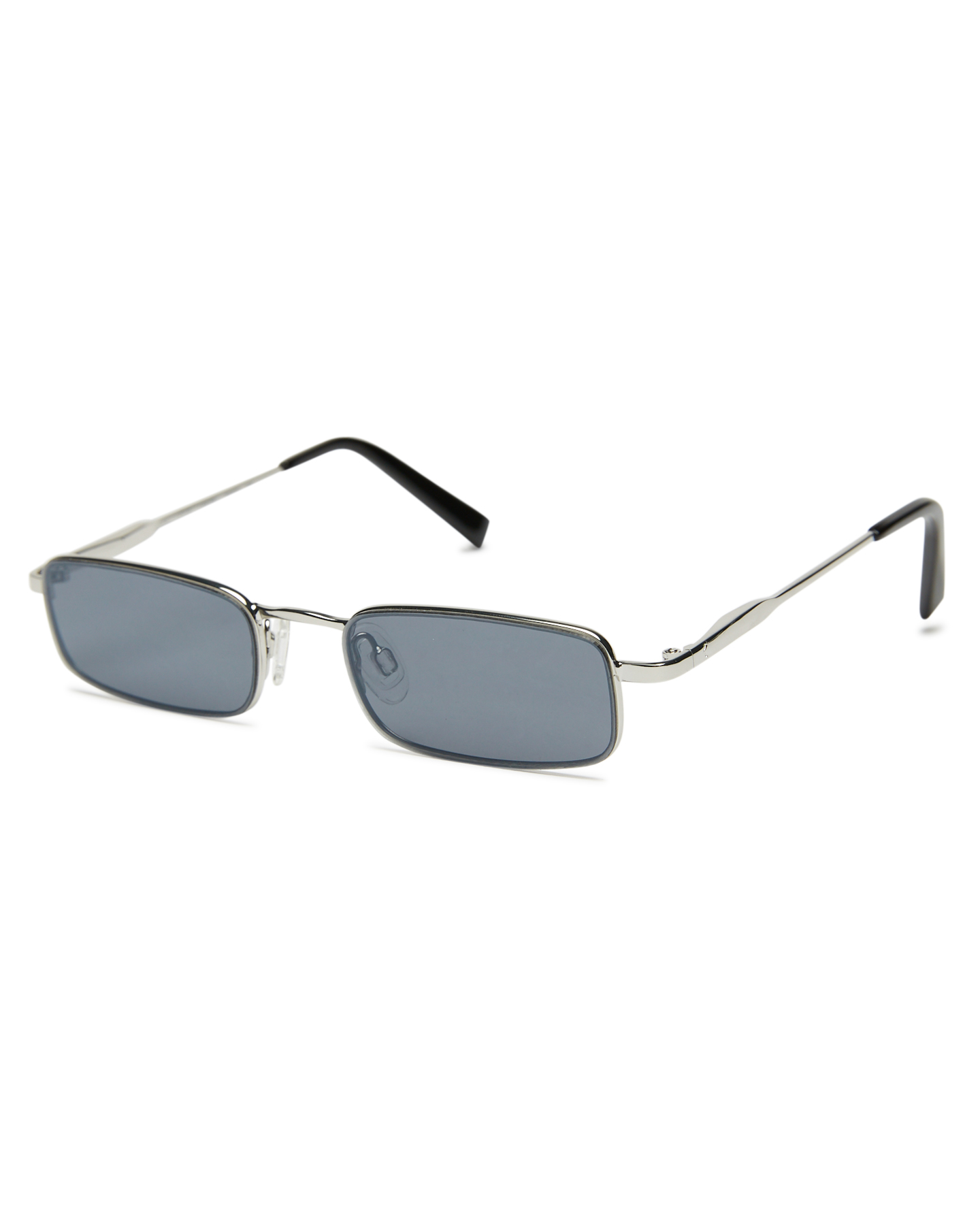 Kendall And Kylie Lancer Sunglasses Shinny Silver