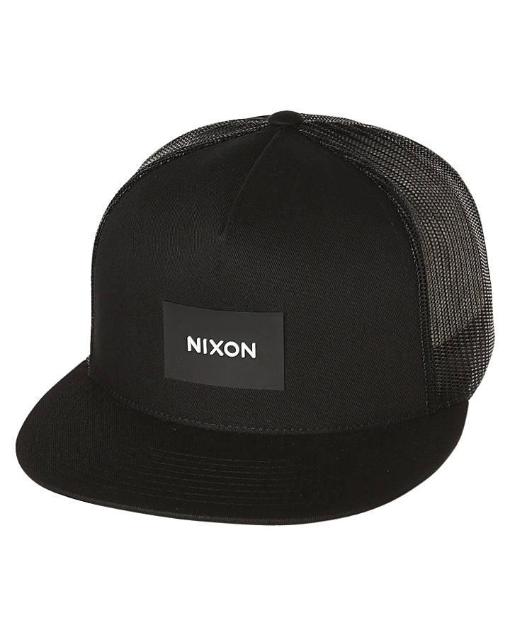 Nixon Team Trucker Cap Black