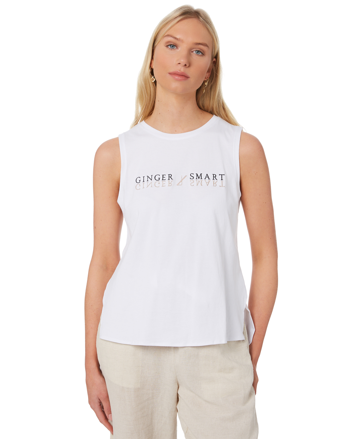 Ginger And Smart Reflection Tank White