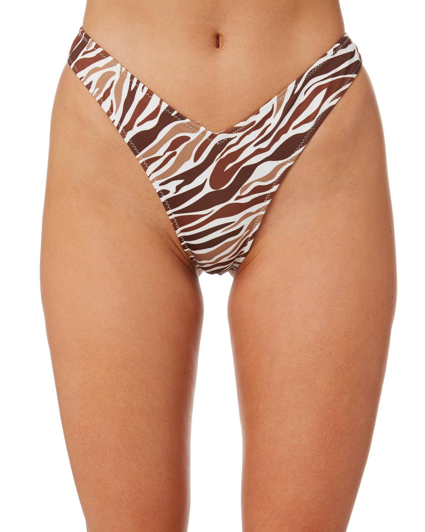 Lahana Remi Bottom Brown Zebra