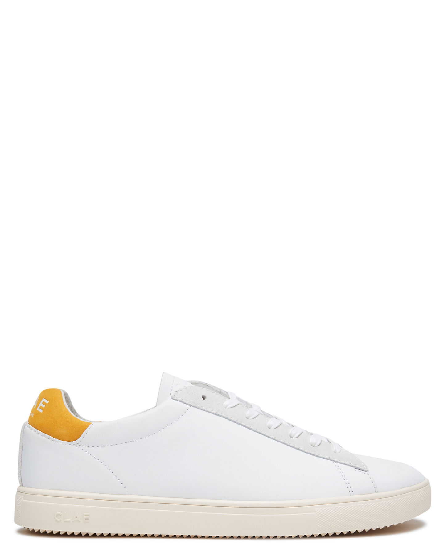 Clae Bradley California Mens Shoe White Golden Glow