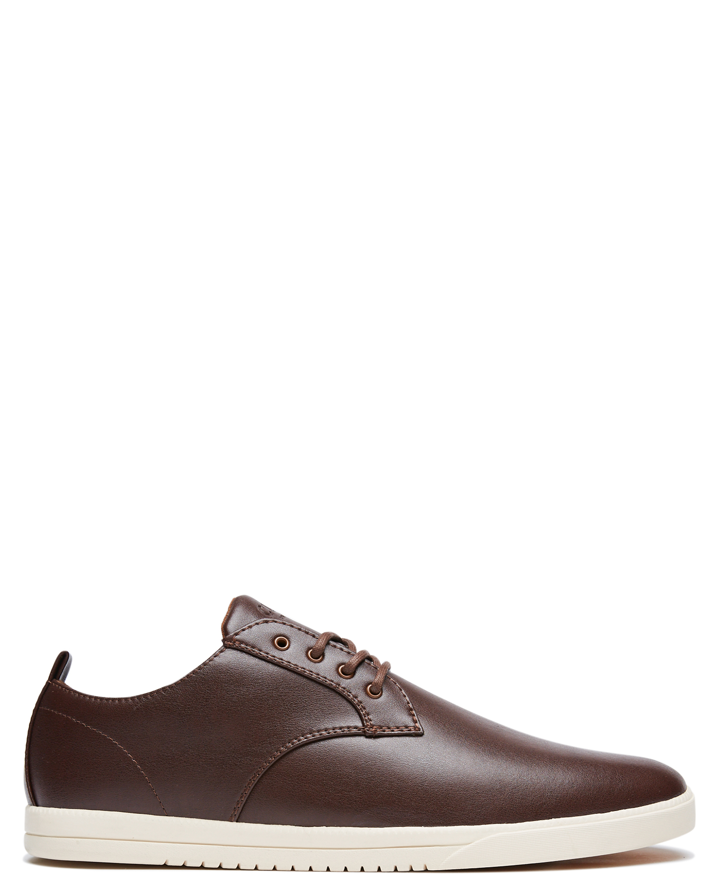 Clae Ellington Vegan Mens Shoe Brown Vegan Leather