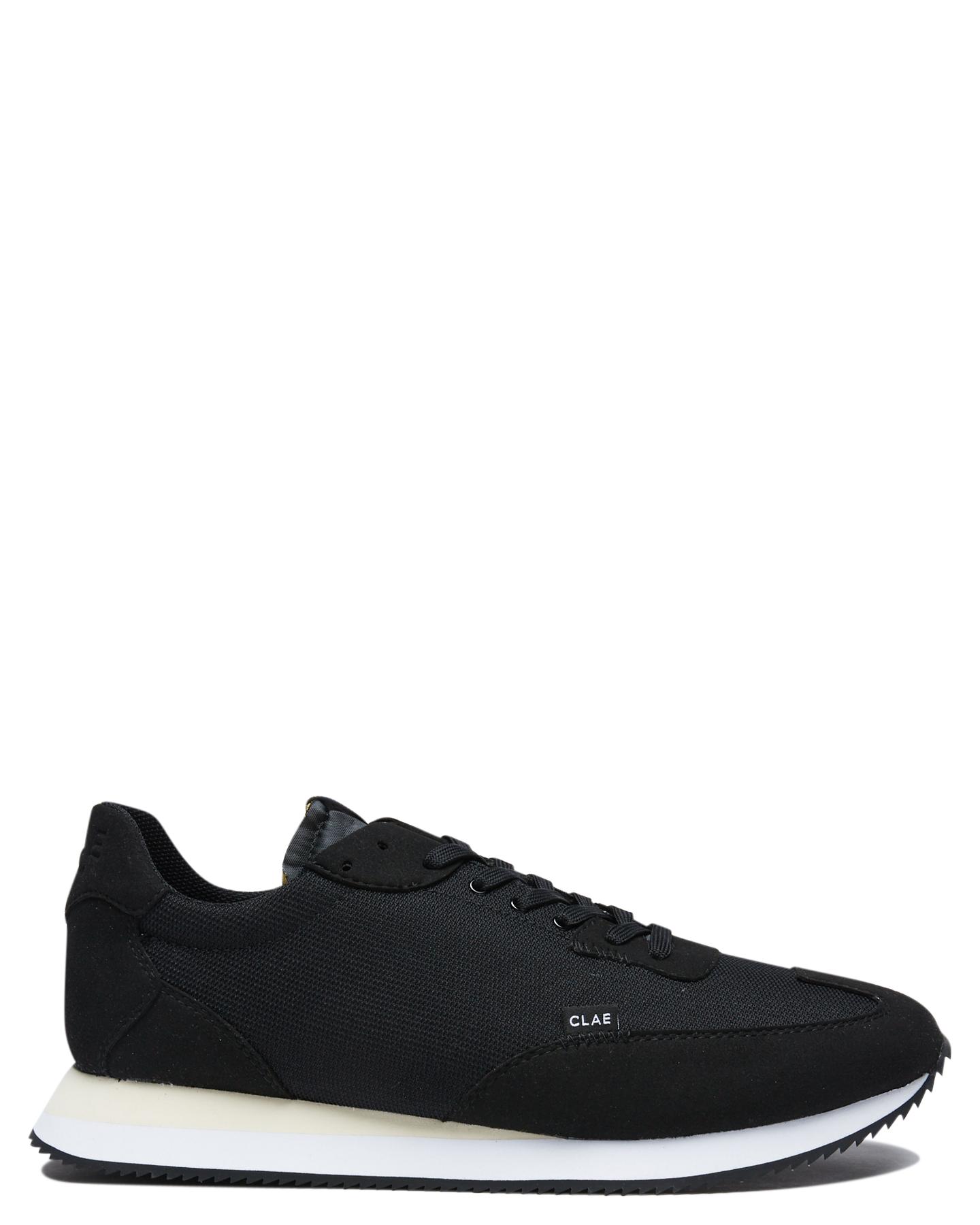 Clae Runyon Mens Sneaker Black White