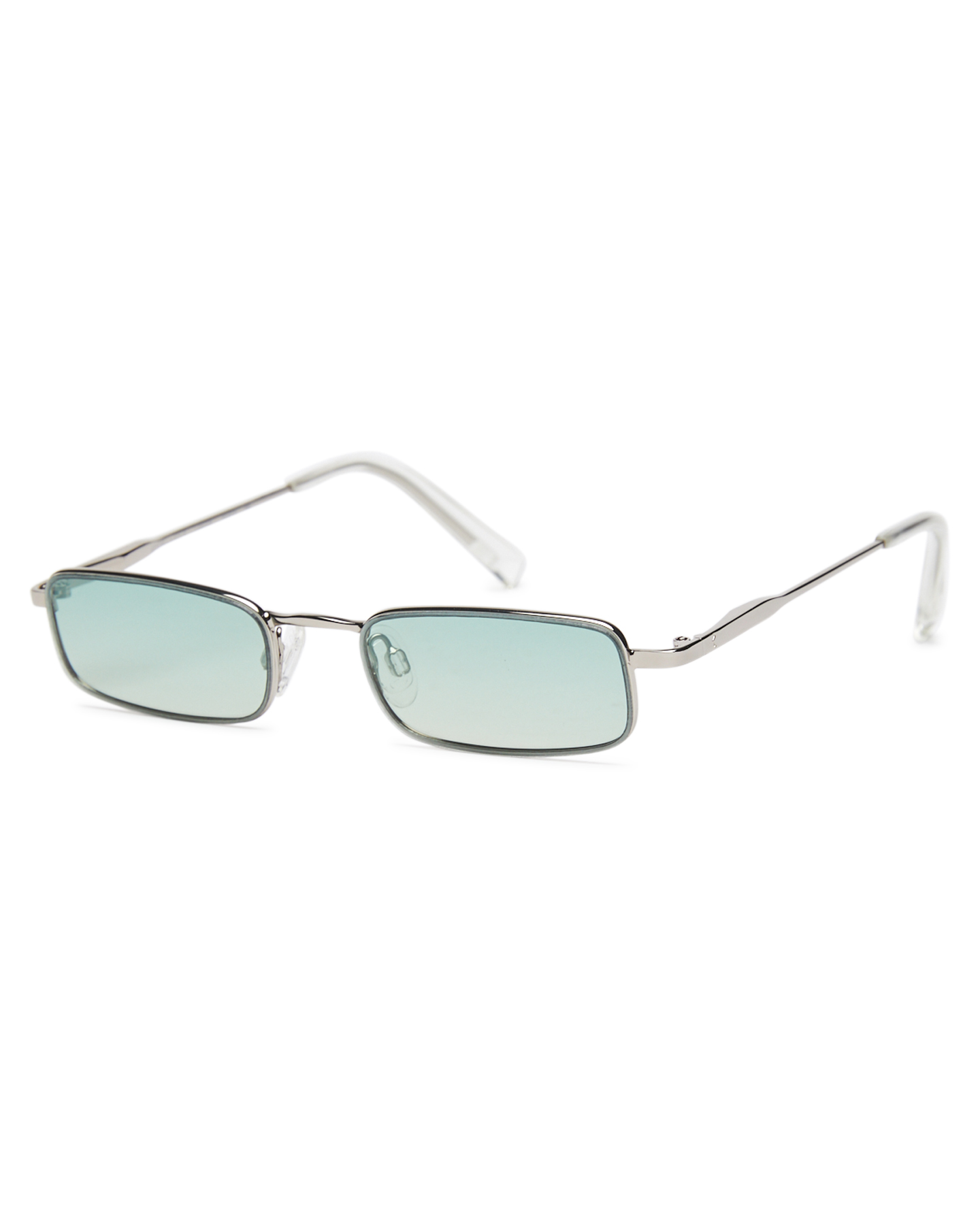 Kendall And Kylie Lancer Sunglasses Shiny Light Gunmetal Shiny Light Gunmetal