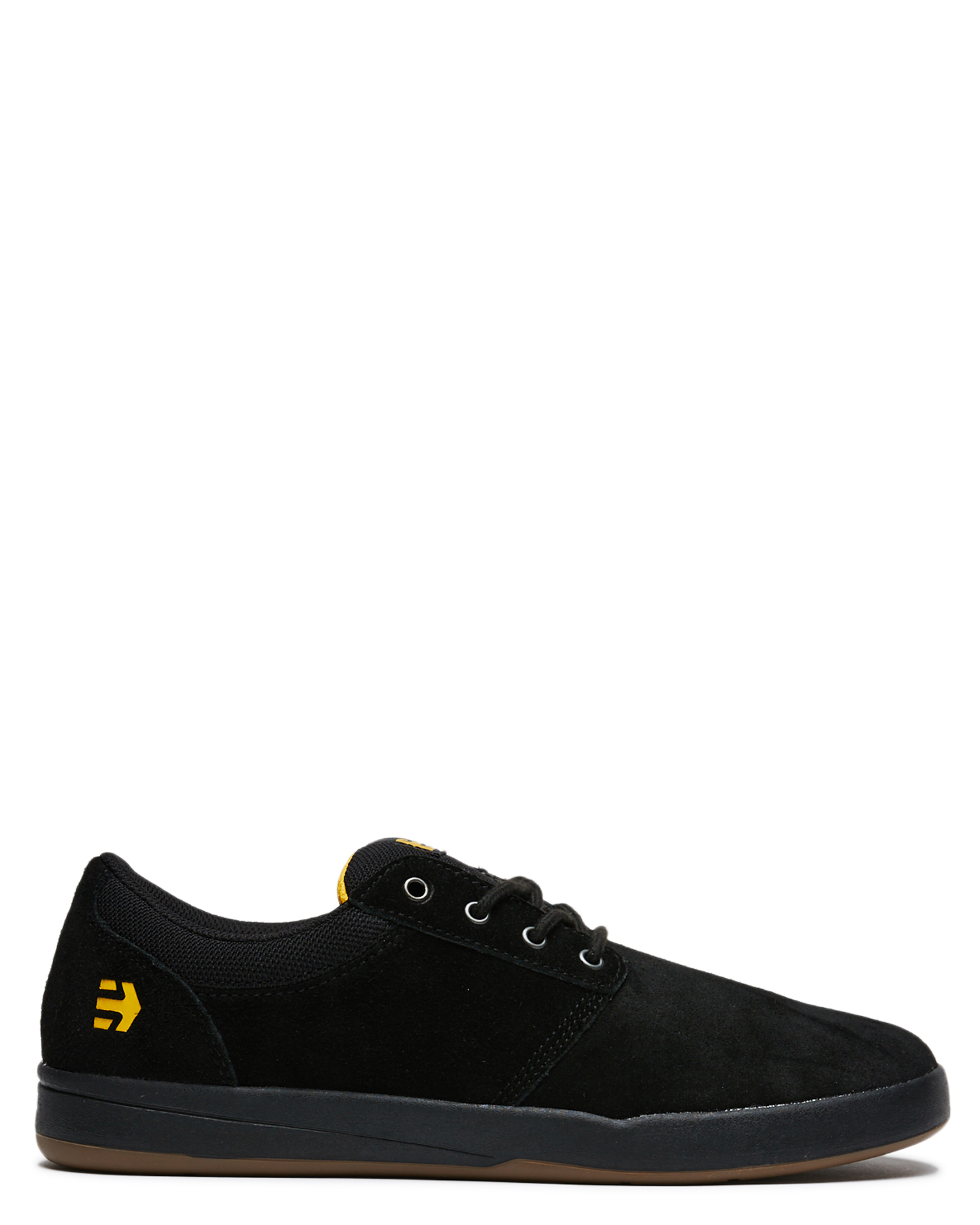 Etnies Mens Score Shoe Black Yellow