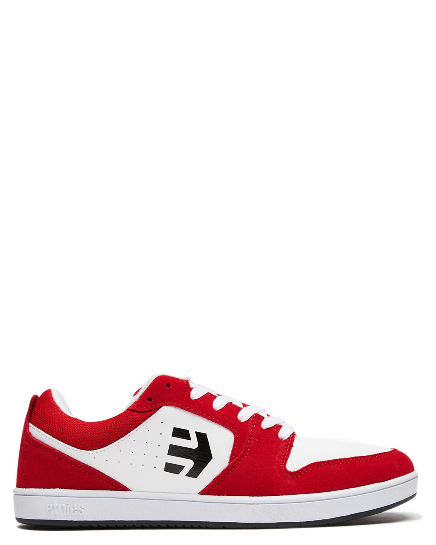 Etnies Mens Verano Shoe Red White